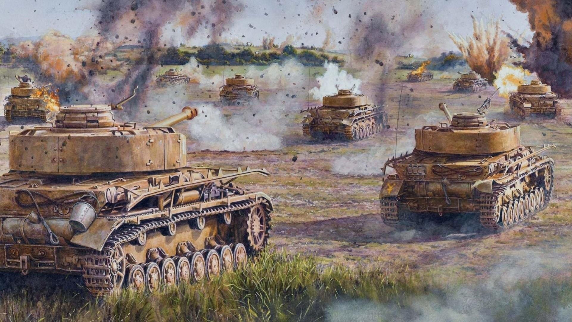 pzkpfw iv panzerkampfwagen iv pz. iv t‑iv german medium tank during world  war