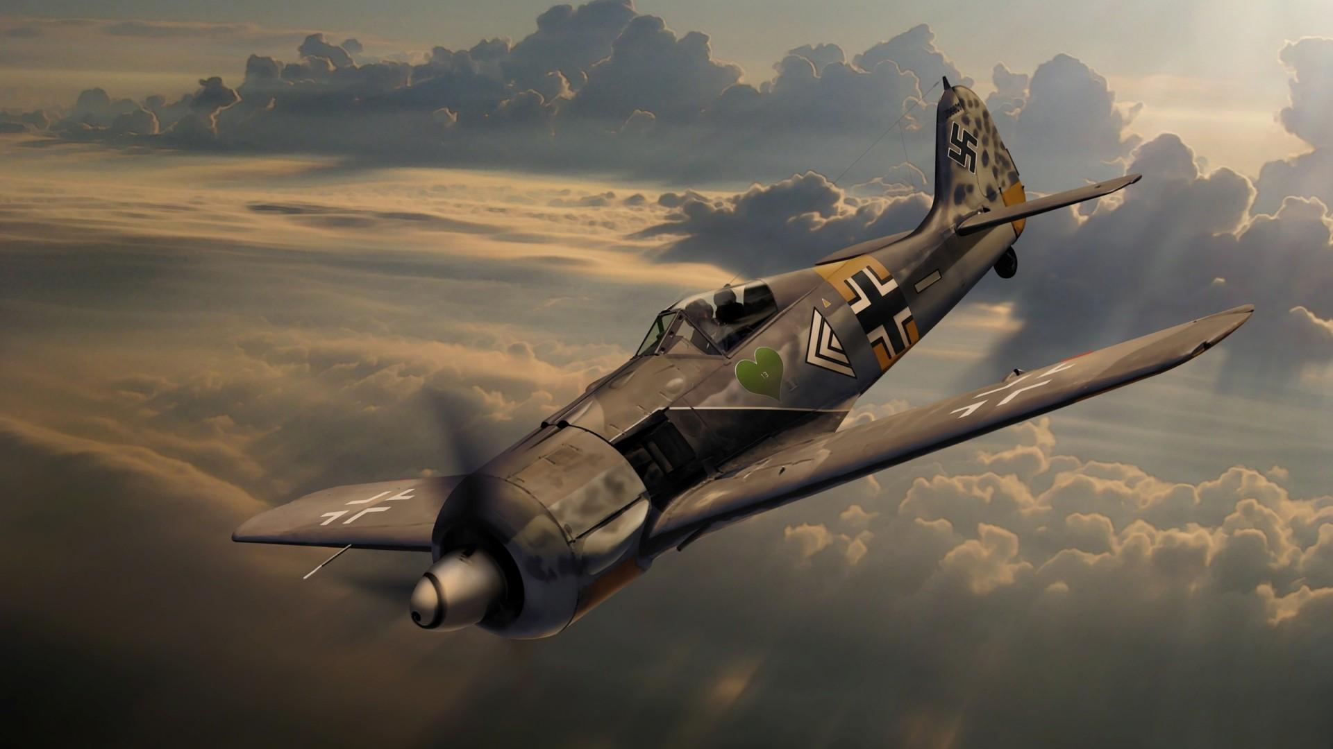 Focke-Wulf German World War 2 Aircraft Wallpaper – https://www.