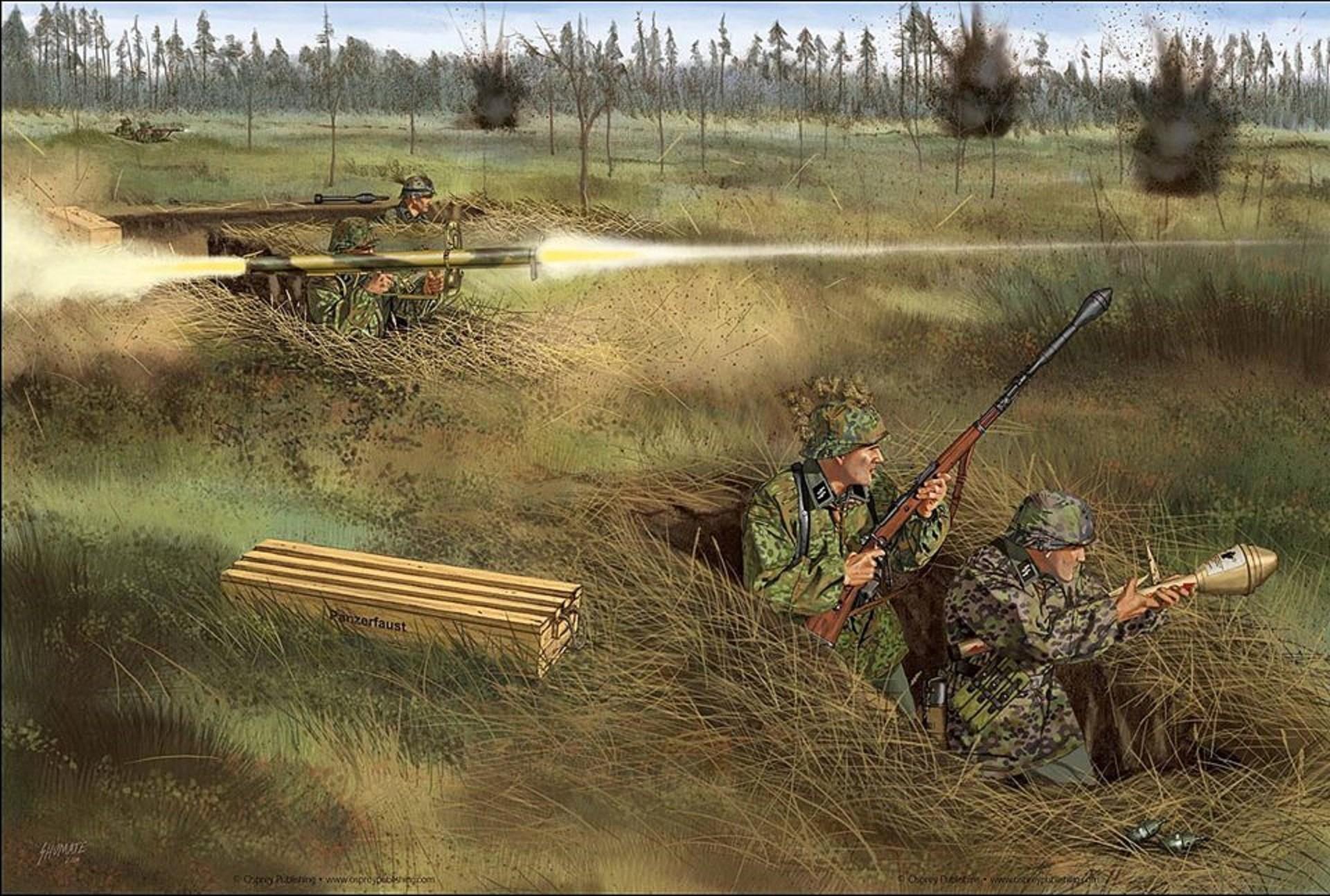 Art illustration – World War II