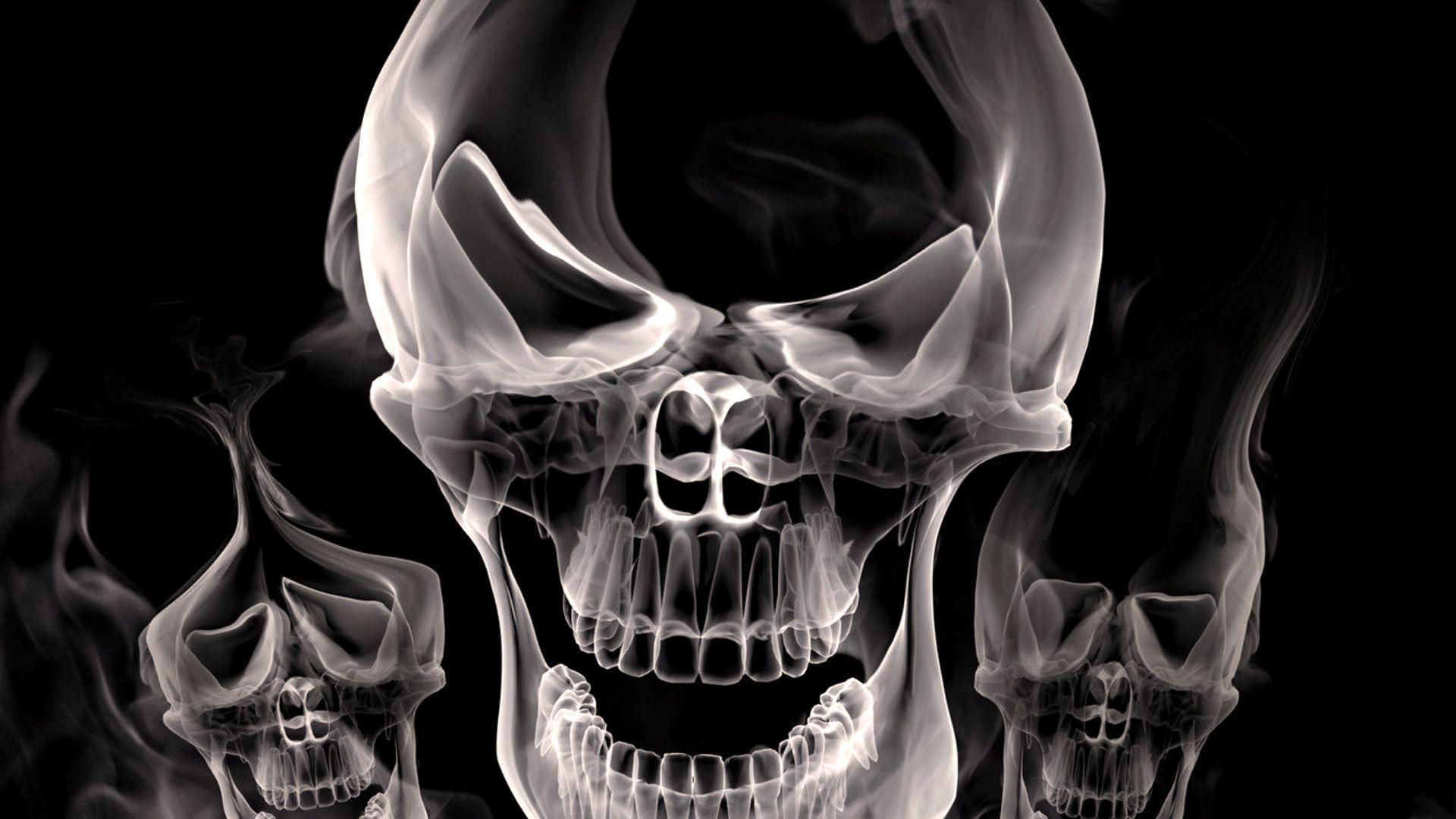 3d Skull Smoke Wallpaper | HD Wallpapers | Desktop Wallpapers