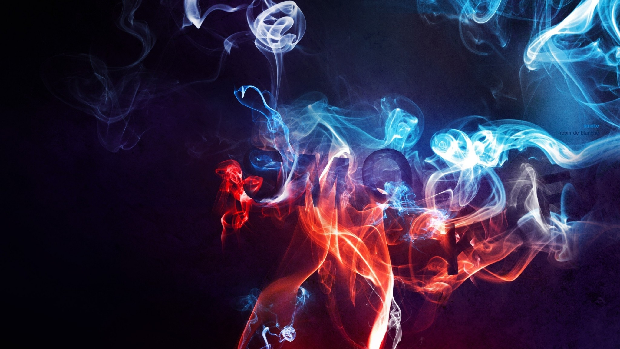 Preview wallpaper smoke, color, background, blurred 2048×1152