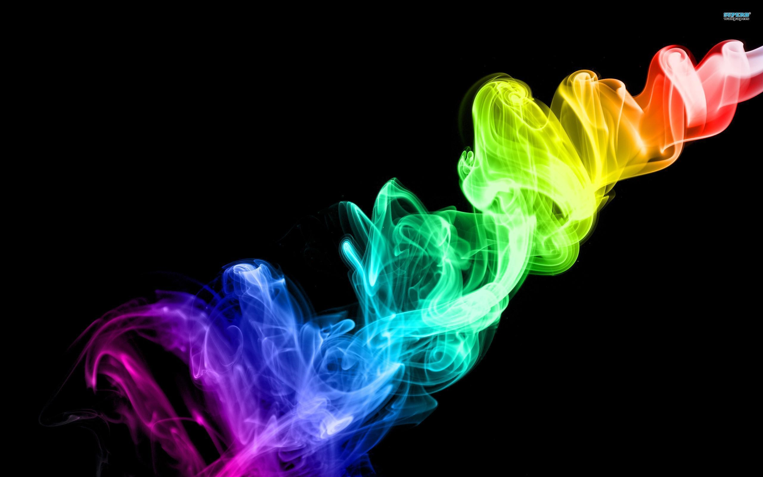 Colorful Smoke HD Wallpaper