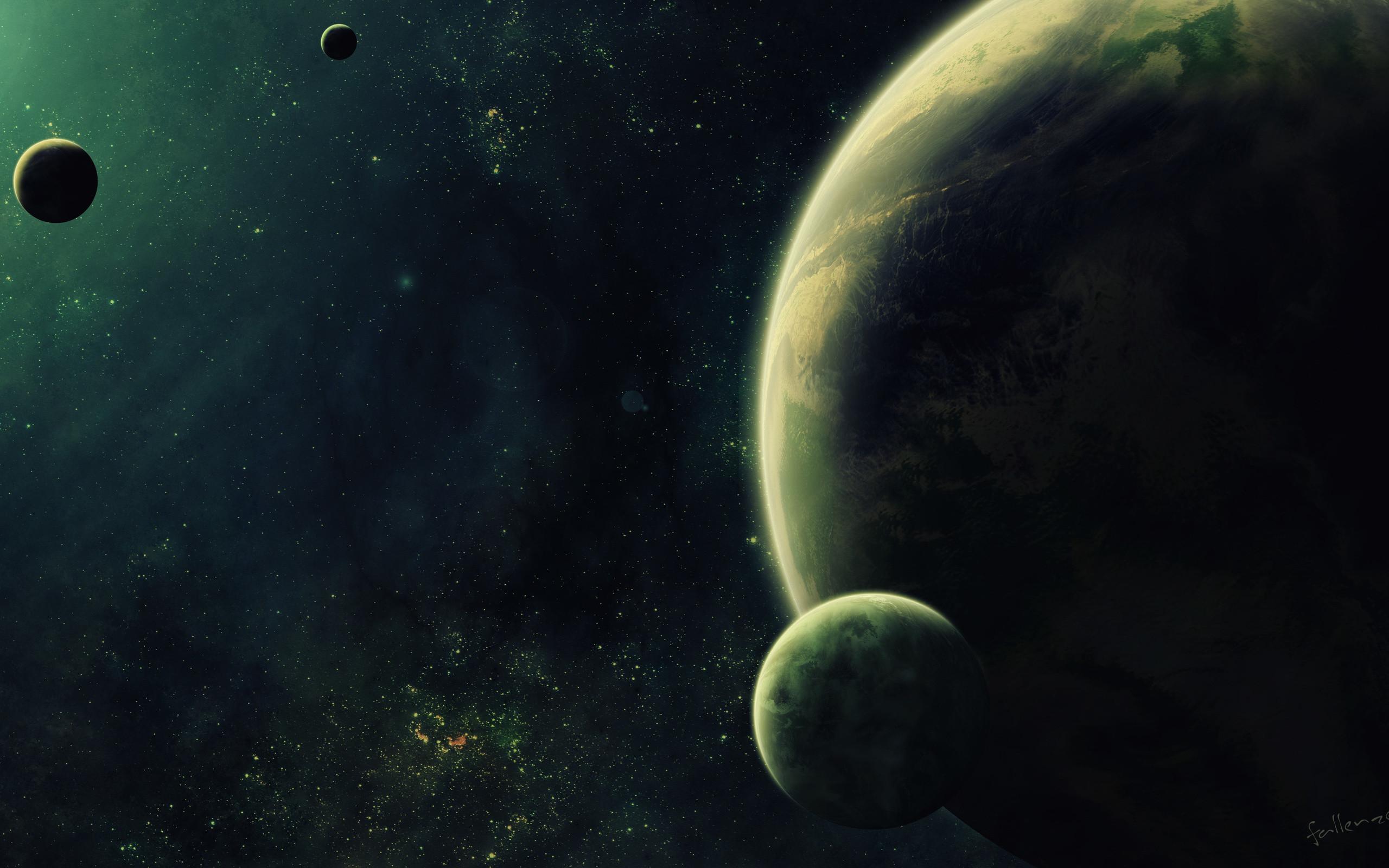 Science fiction – Planeter Bakgrund