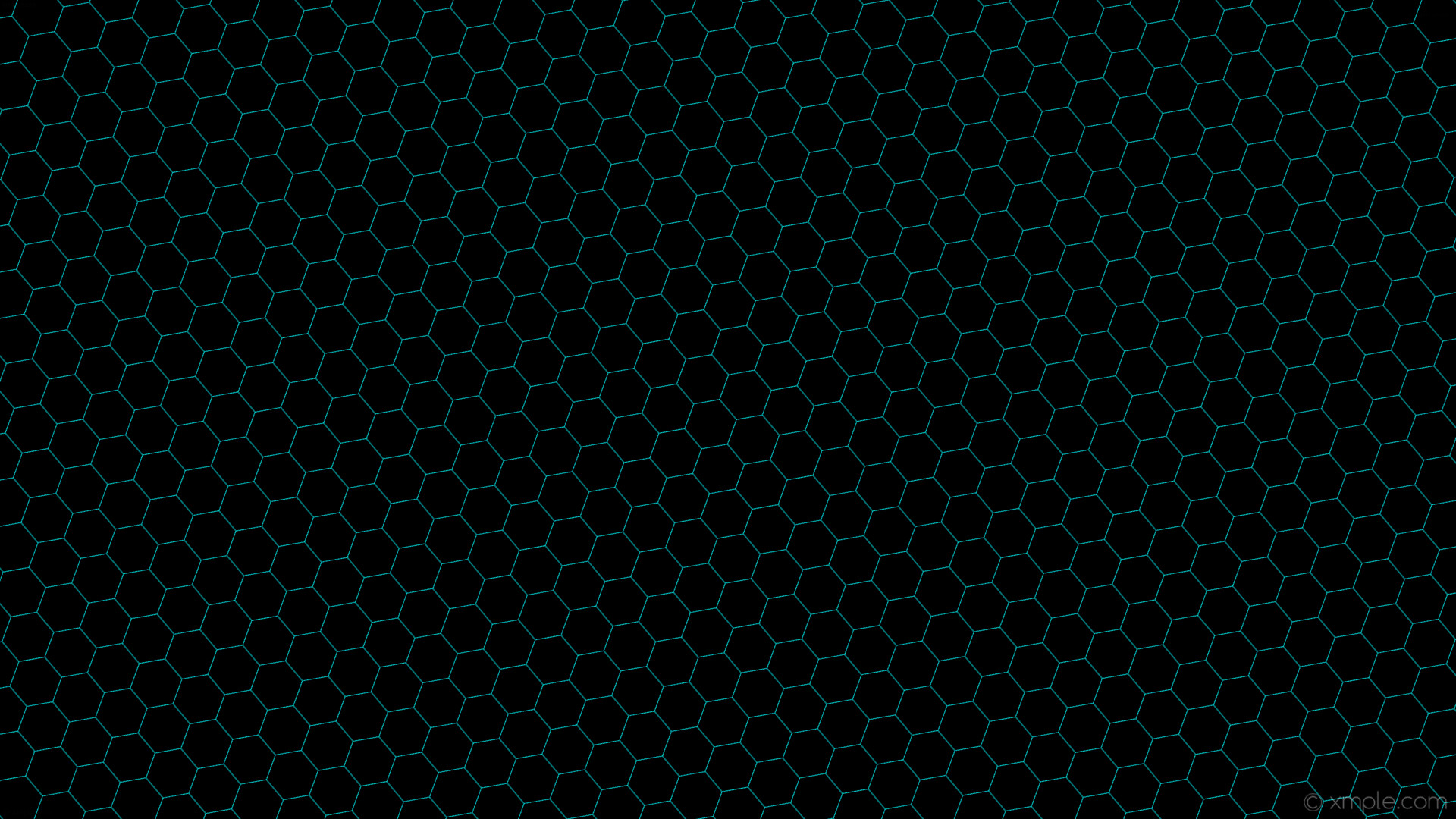wallpaper honeycomb black blue hexagon beehive dark turquoise #000000  #00ced1 diagonal 40° 1px