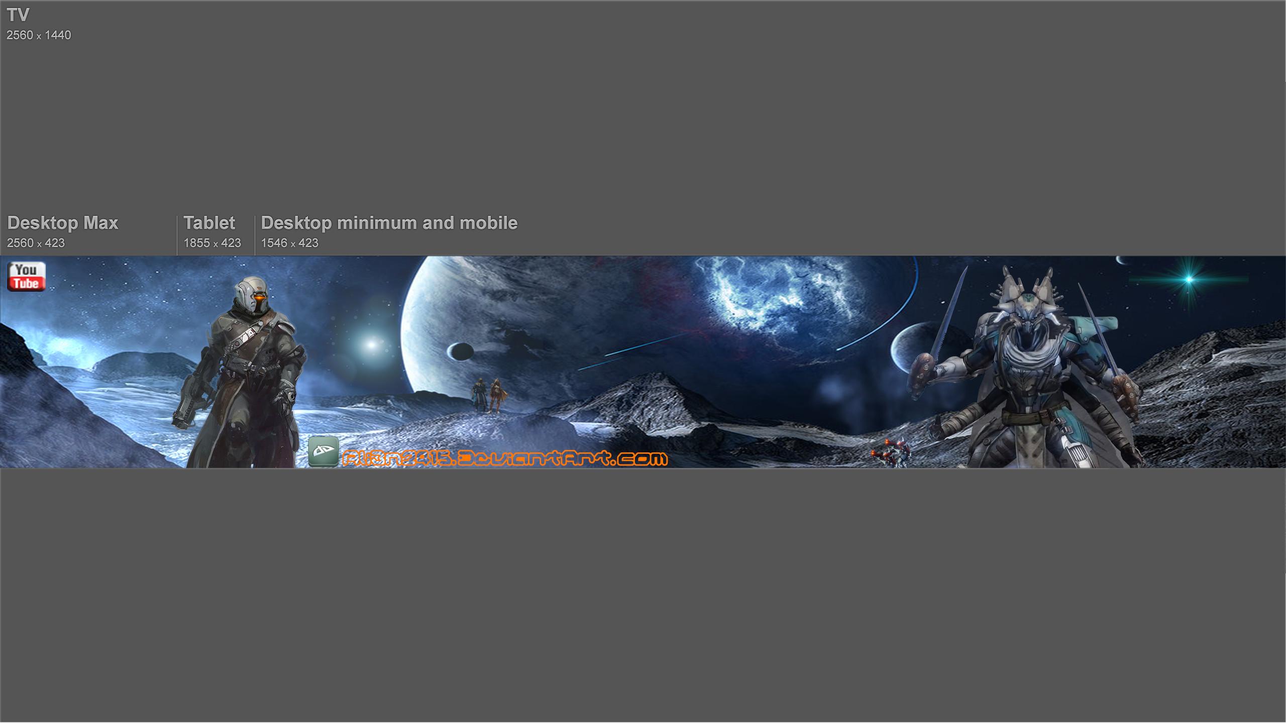Destiny Banner by ALI3N2415 Destiny Banner by ALI3N2415