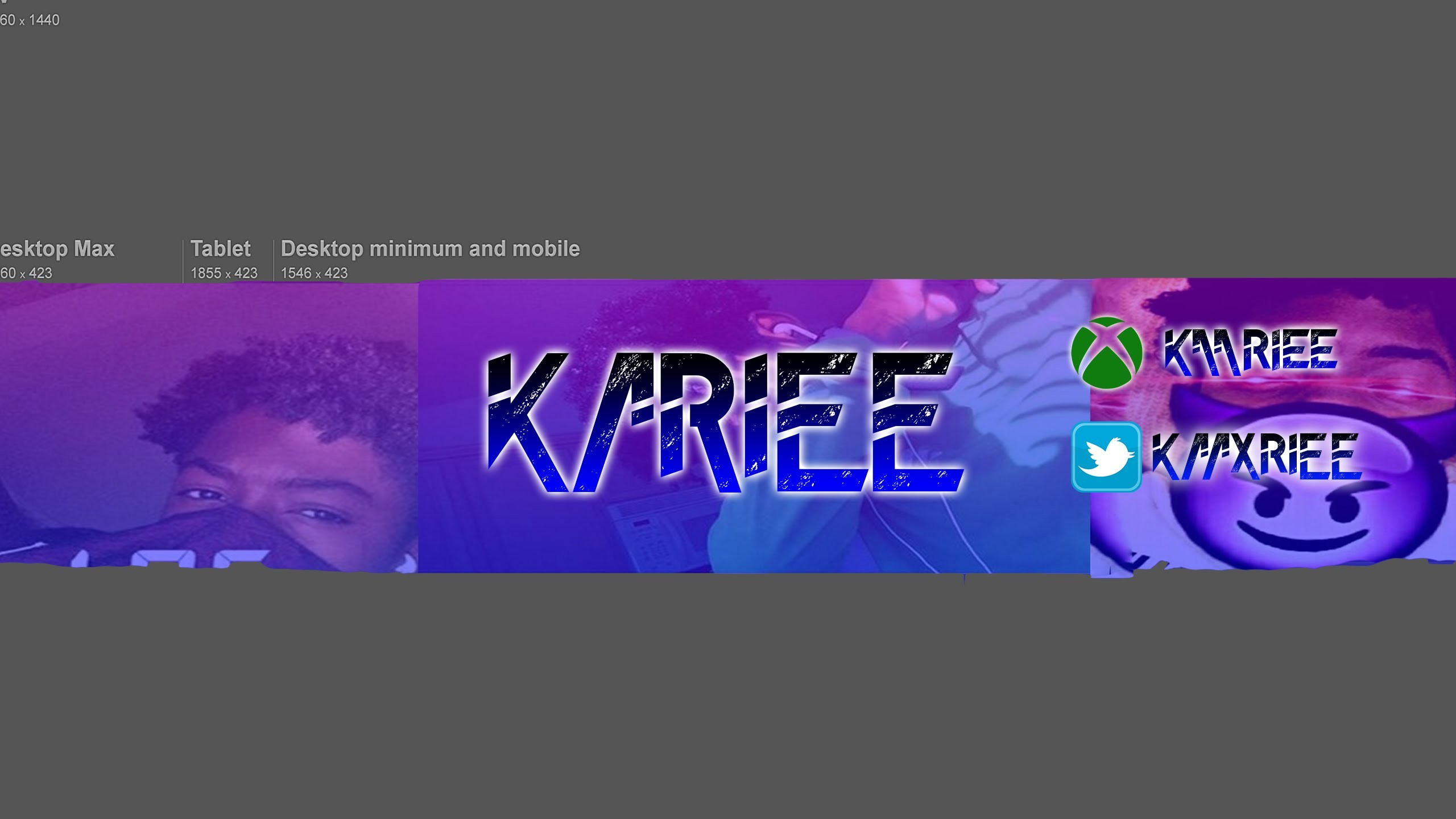  Photoshop Speed Art  Banner for Kariee #SUBSCRIBE
