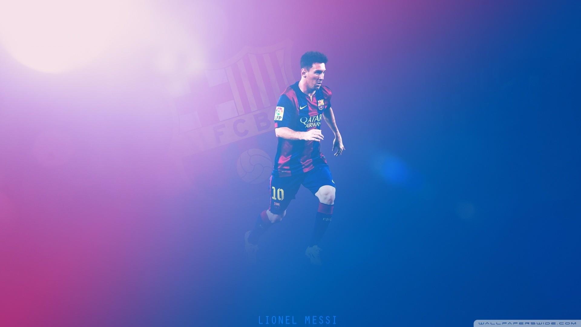 Lionel Messi – Barcelona HD Wide Wallpaper for Widescreen