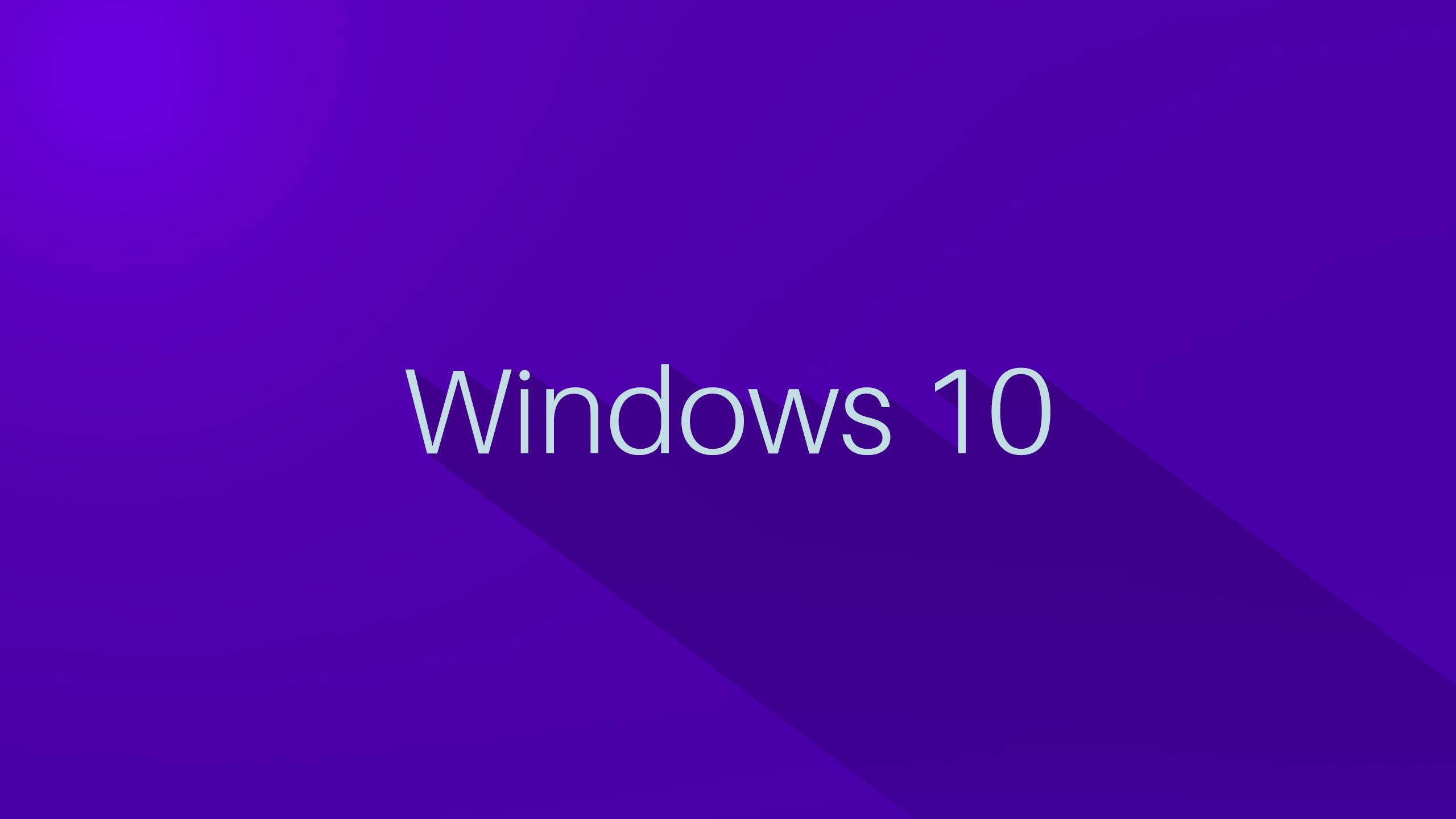 Purple Windows 10 Wallpaper Background 49913
