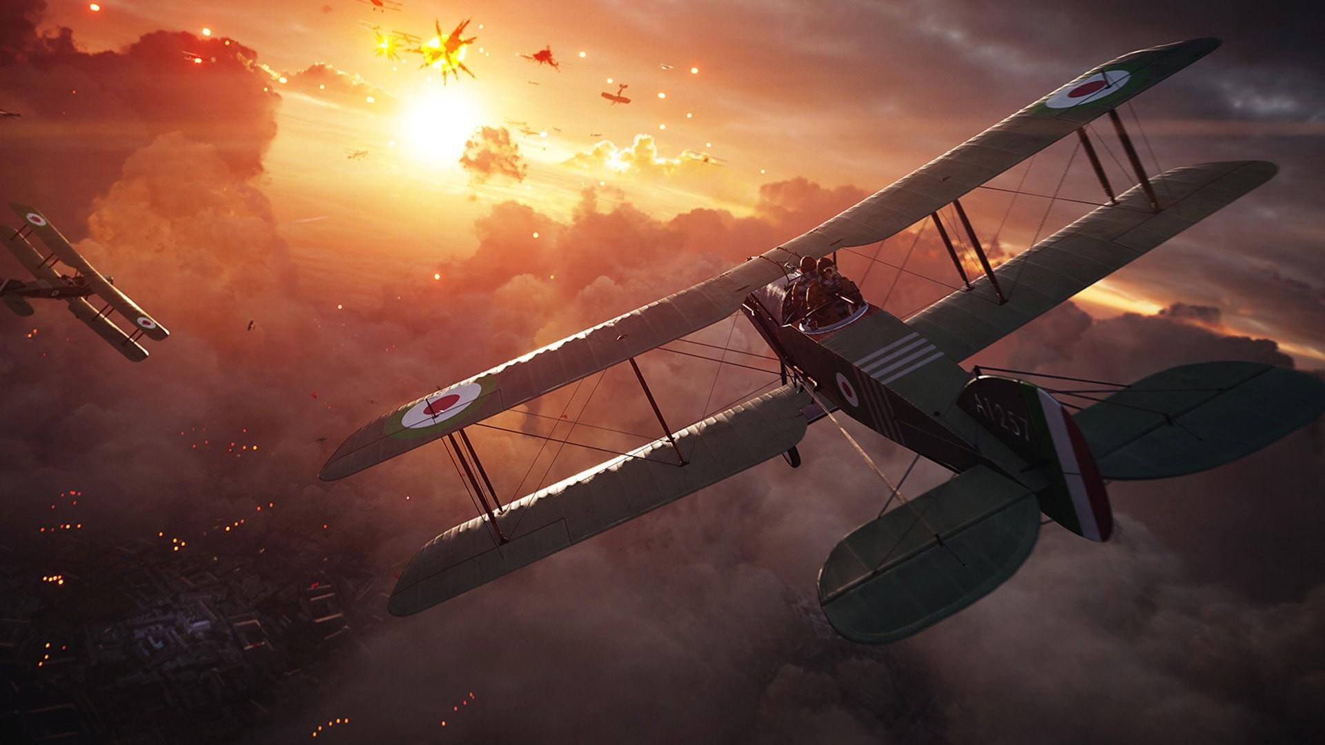 Fighter Planes Battle