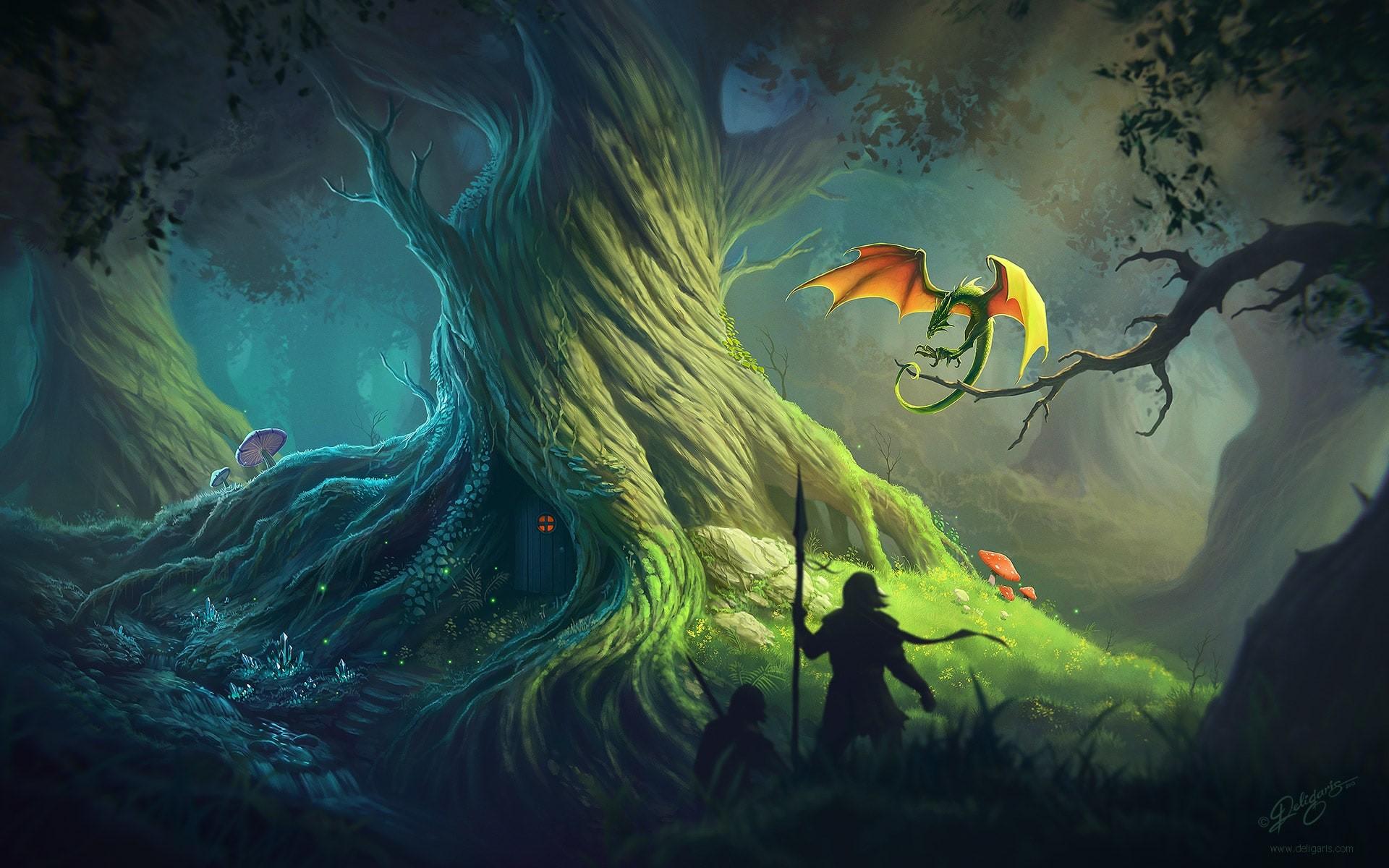 Fantasy Old Tree