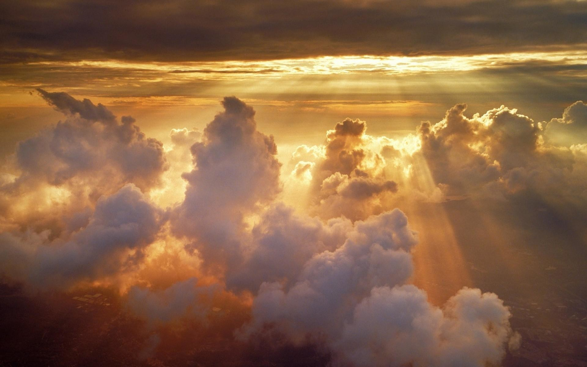 Clouds sun heavenly wallpaper | (3369)