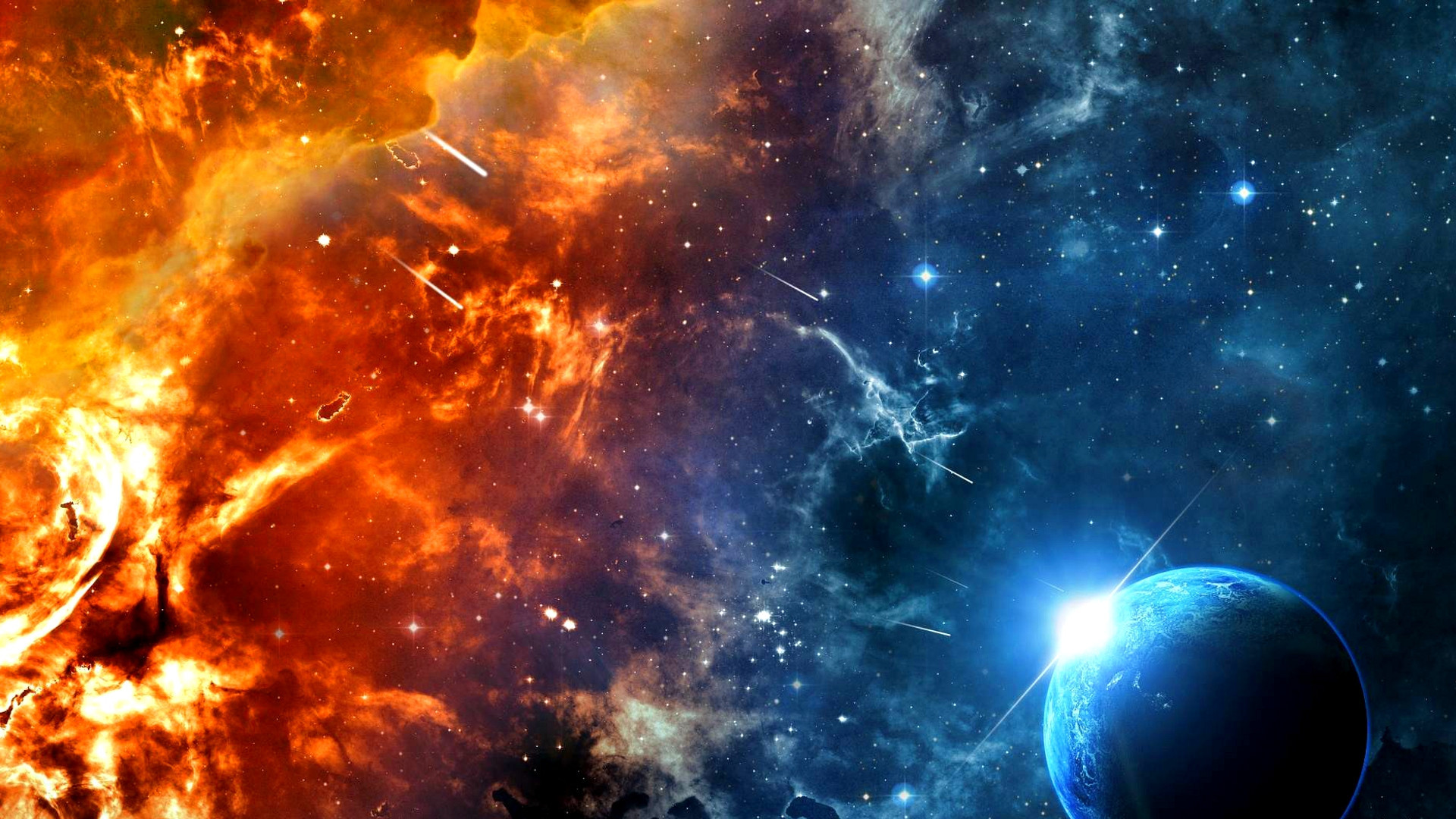 Heaven vs Hell Wallpaper Heaven And Hell Wallpaper