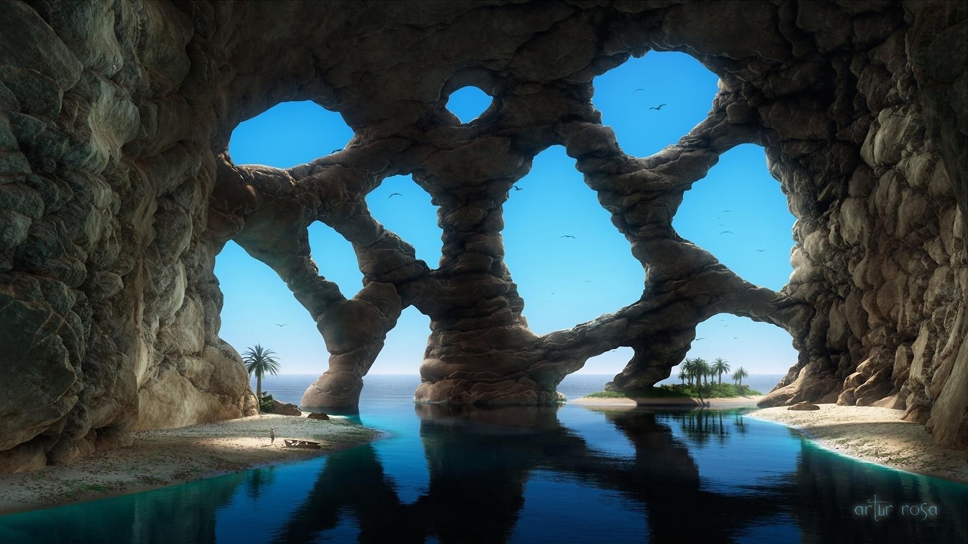 Strange Cave, Heavenly Water