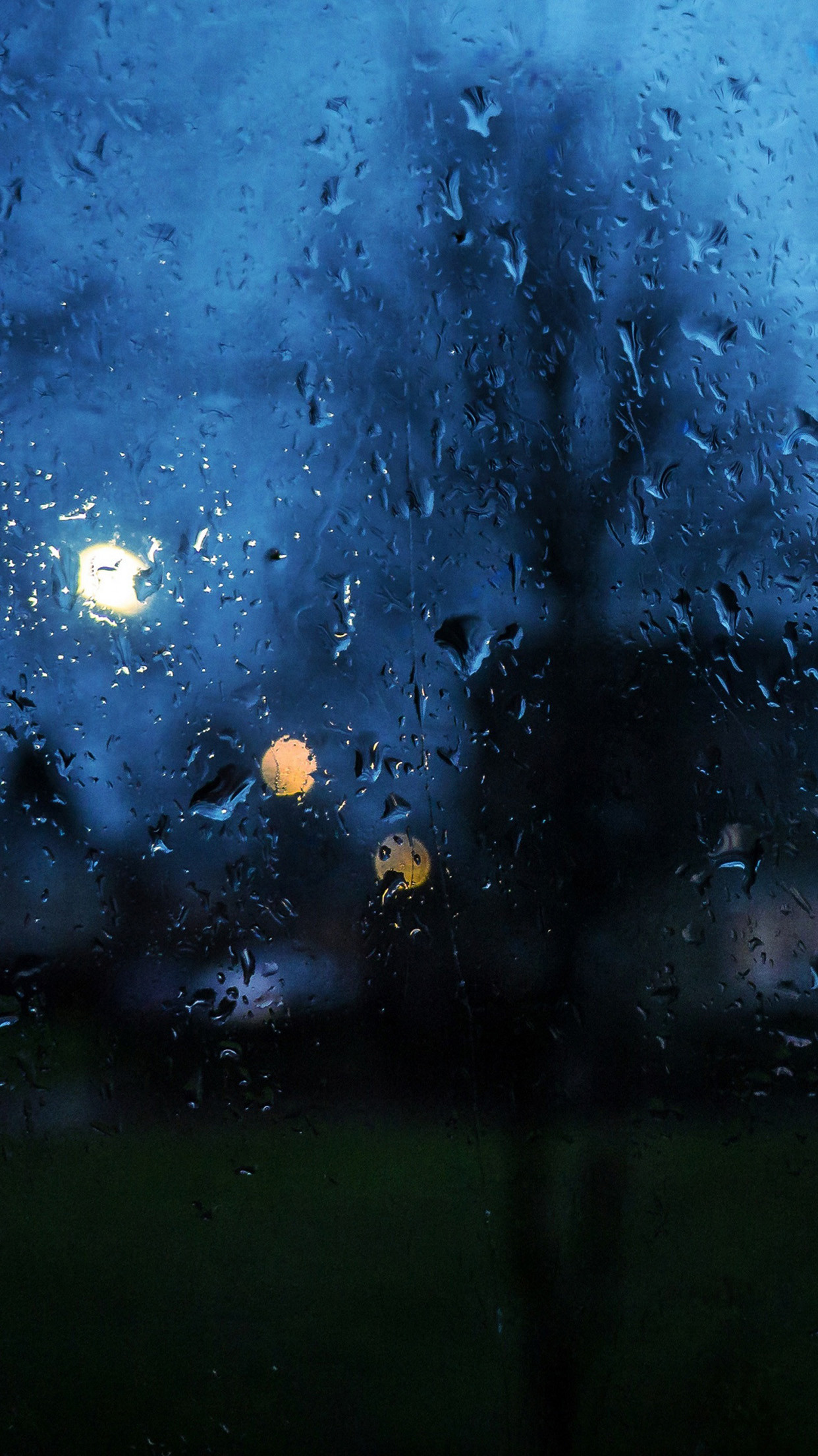 Rainy Day Window Bokeh Android Wallpaper …