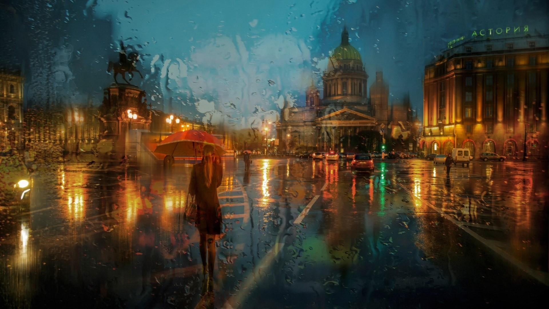 cool Rainy day wallpaper