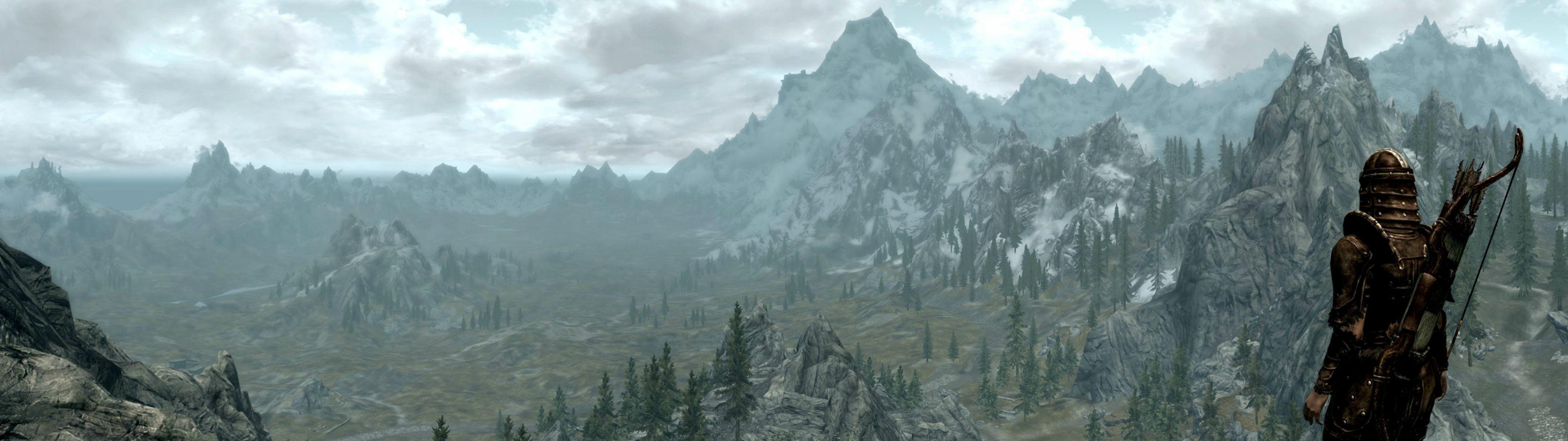 Skyrim Panoramic I Made [3840 x 1080] : wallpapers