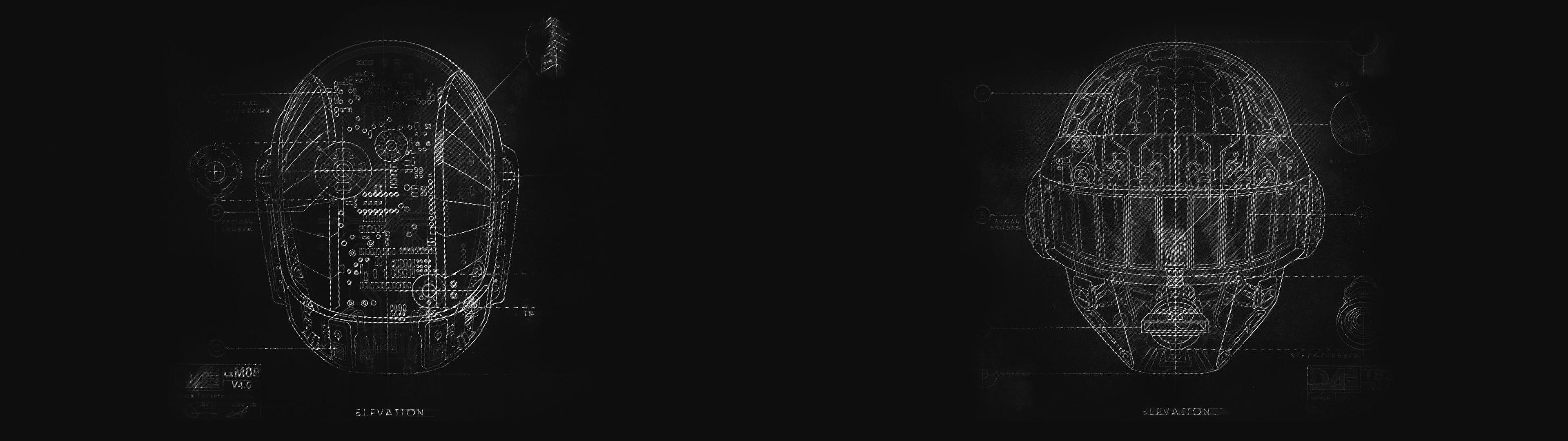 [3840×1080] Daft Punk WallpaperDual …