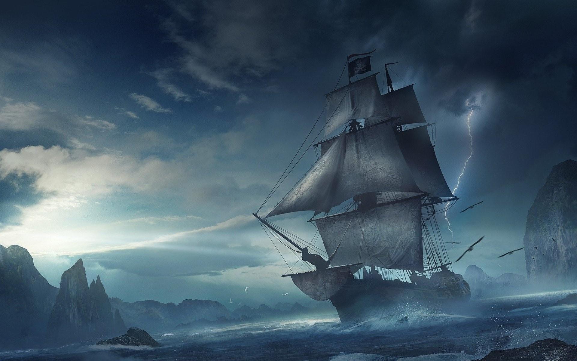 13 Pirate Ship Hd Wallpapers Backgrounds Wallpaper Ass Pirate Ship Wallpaper