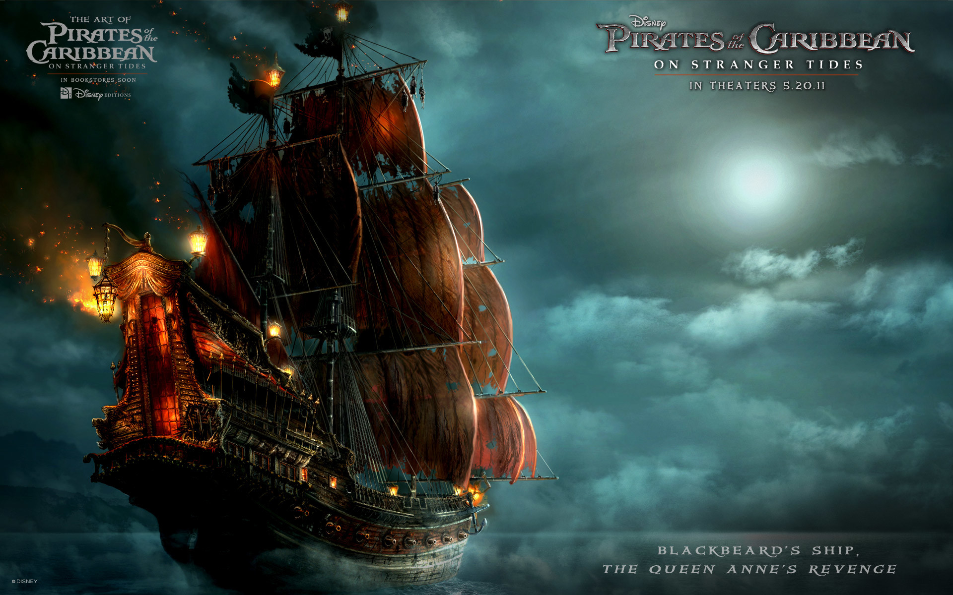 Ship in Pirates Of The Caribbean 4 Wallpapers   HD Wallpapers .
