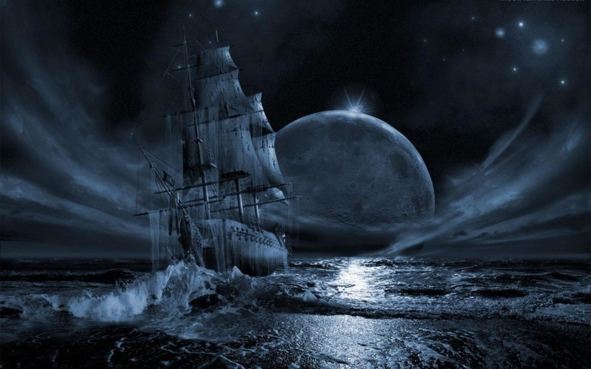 Ghost Pirate Ship Wallpapers High Quality Resolution As Wallpaper HD