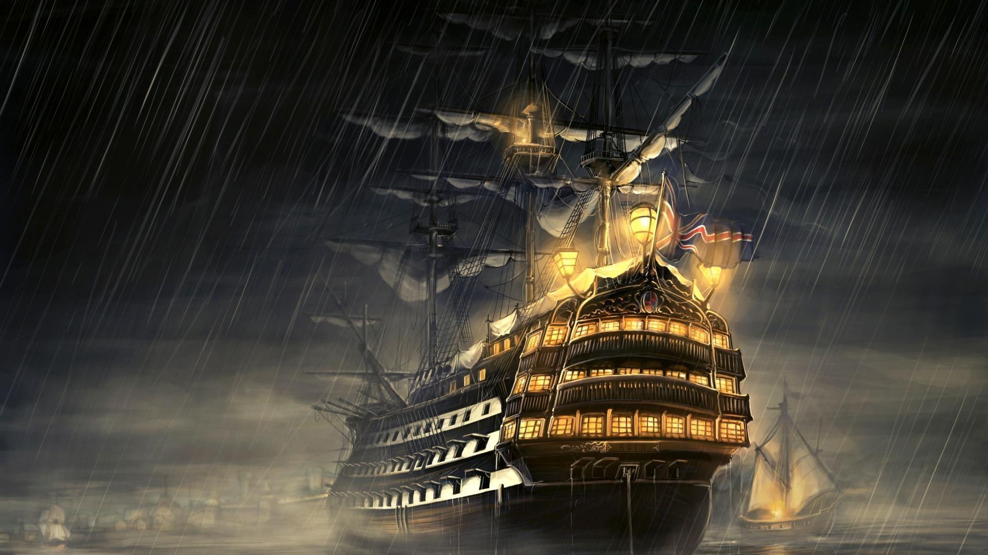 Sea Pirate Wallpaper HD