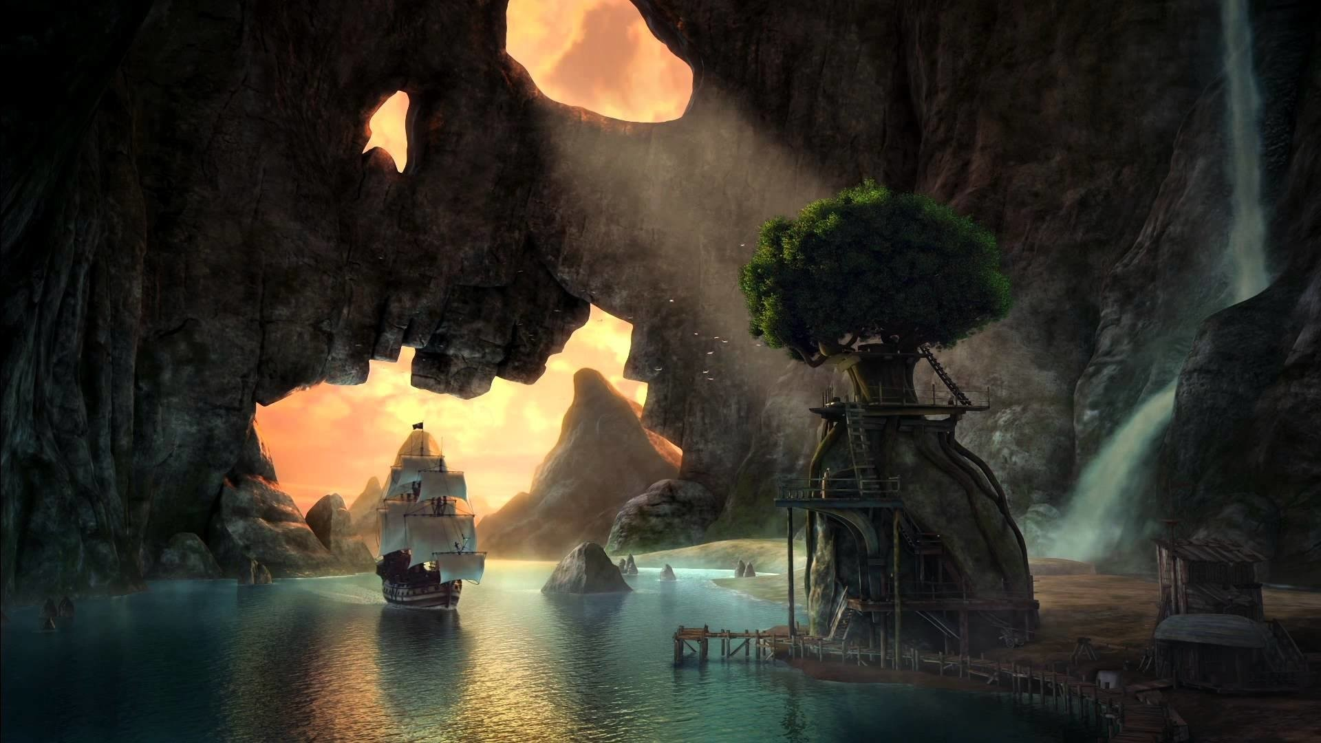 Movie – The Pirate Fairy Pirate Ship Wallpaper