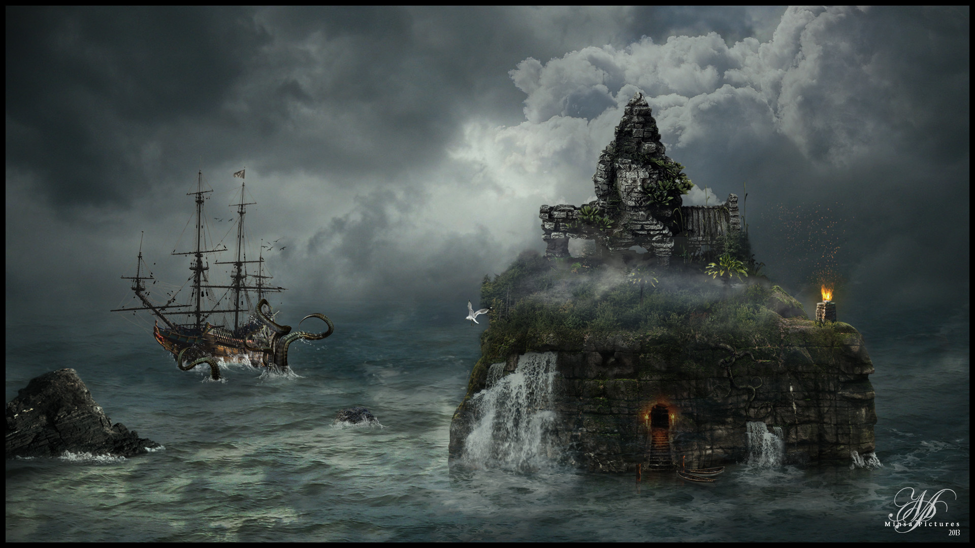 Pirate Island by MiusaPictures on DeviantArt