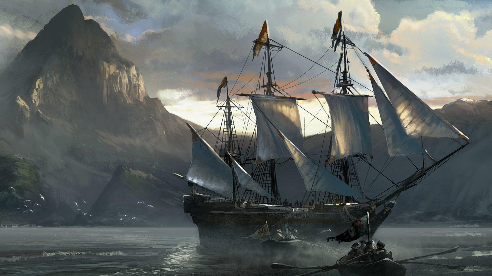 Pirate ship wallpaper hd – photo#28