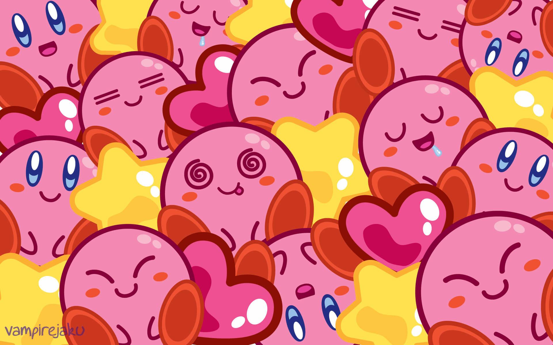 Creative Kirby Wallpaper