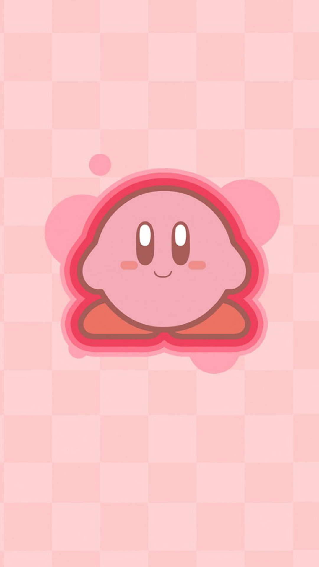 Cute Kirby Smartphone HD Wallpaper Wallpaper