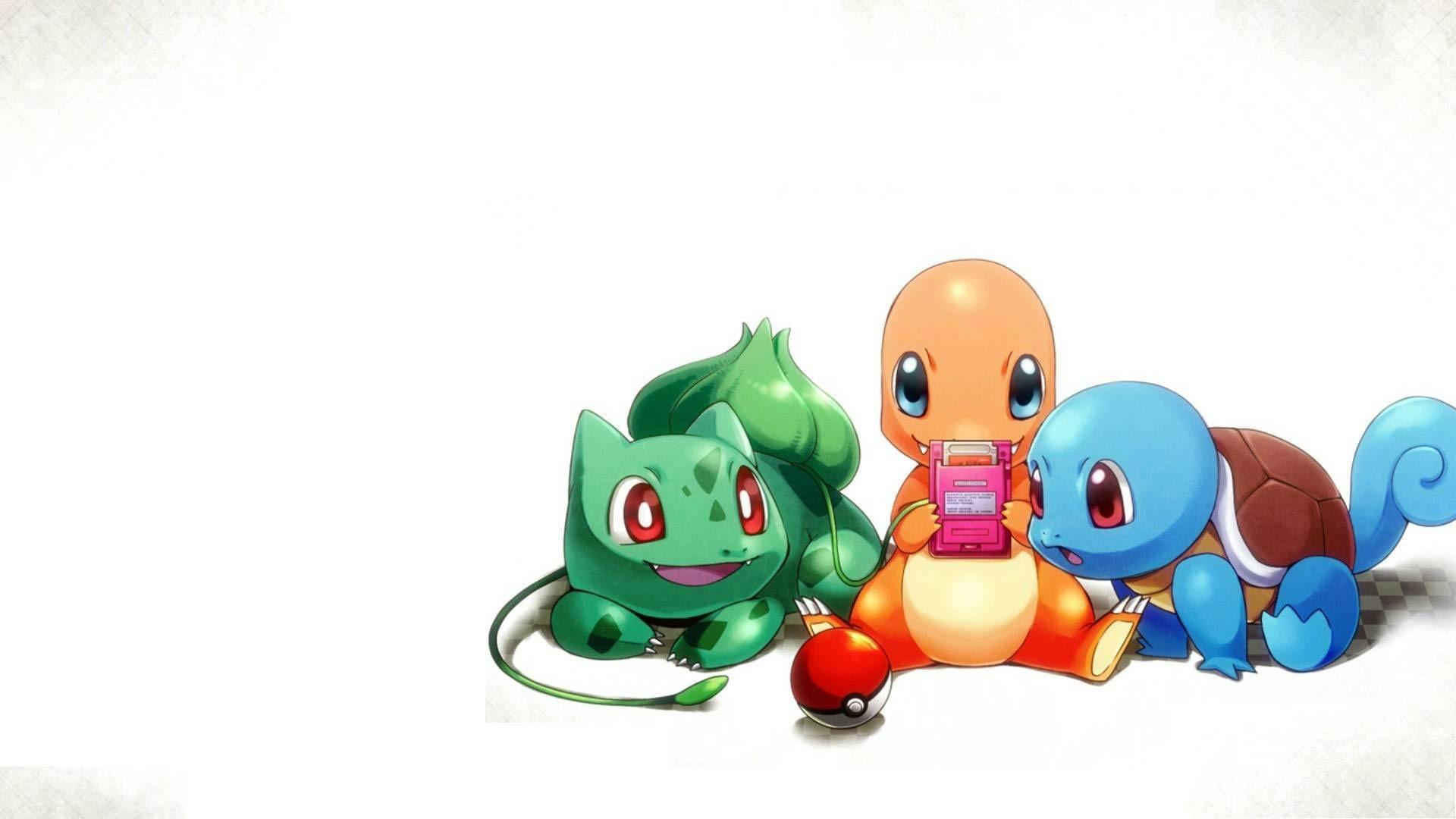 Cute Starter Pokemon Go New Wallpaper Wallpaper