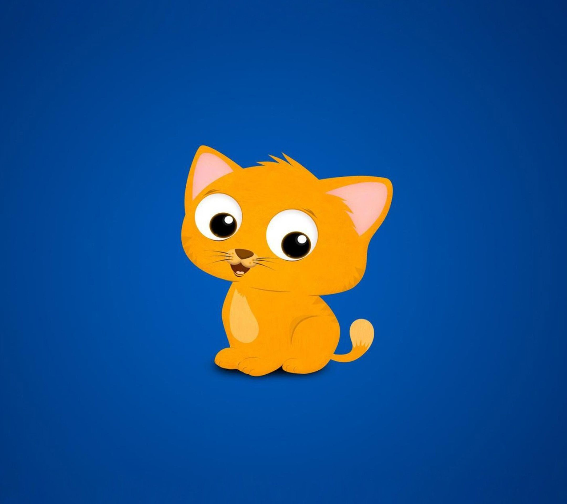 Cute Cartoon Cat Galaxy S4 Wallpapers Background And Themes .