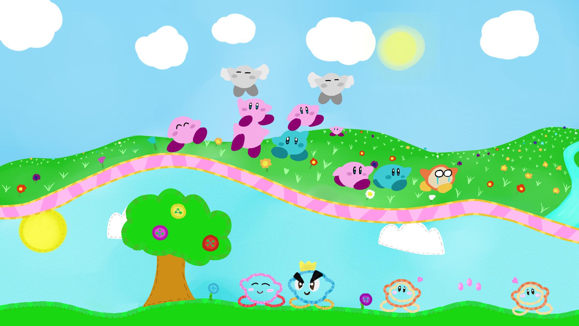 … NintendoJoshUp Kirby Wallpaper (1920×1080) by NintendoJoshUp