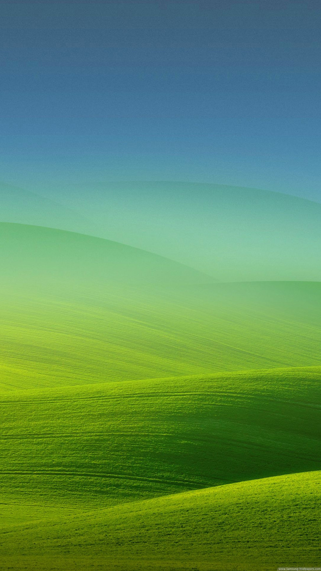 Meadow Fog Lock Screen Android Wallpaper free download