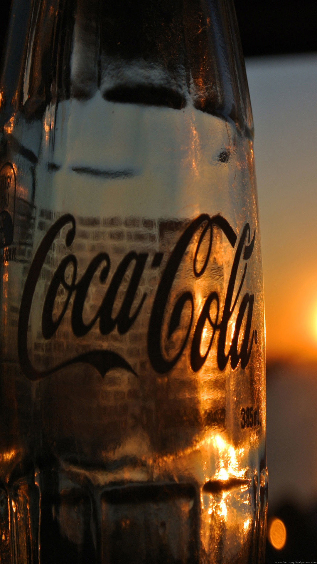 Coca Cola Sunset Lock Screen android wallpaper HD