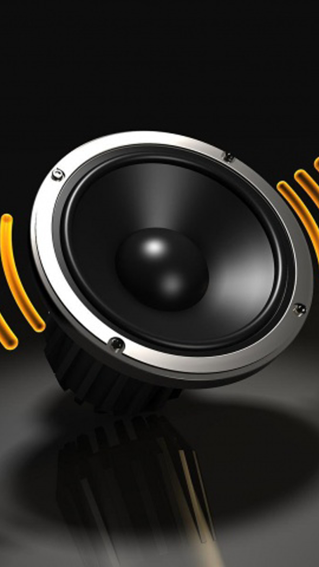 Black Speaker Lockscreen Android Wallpaper …