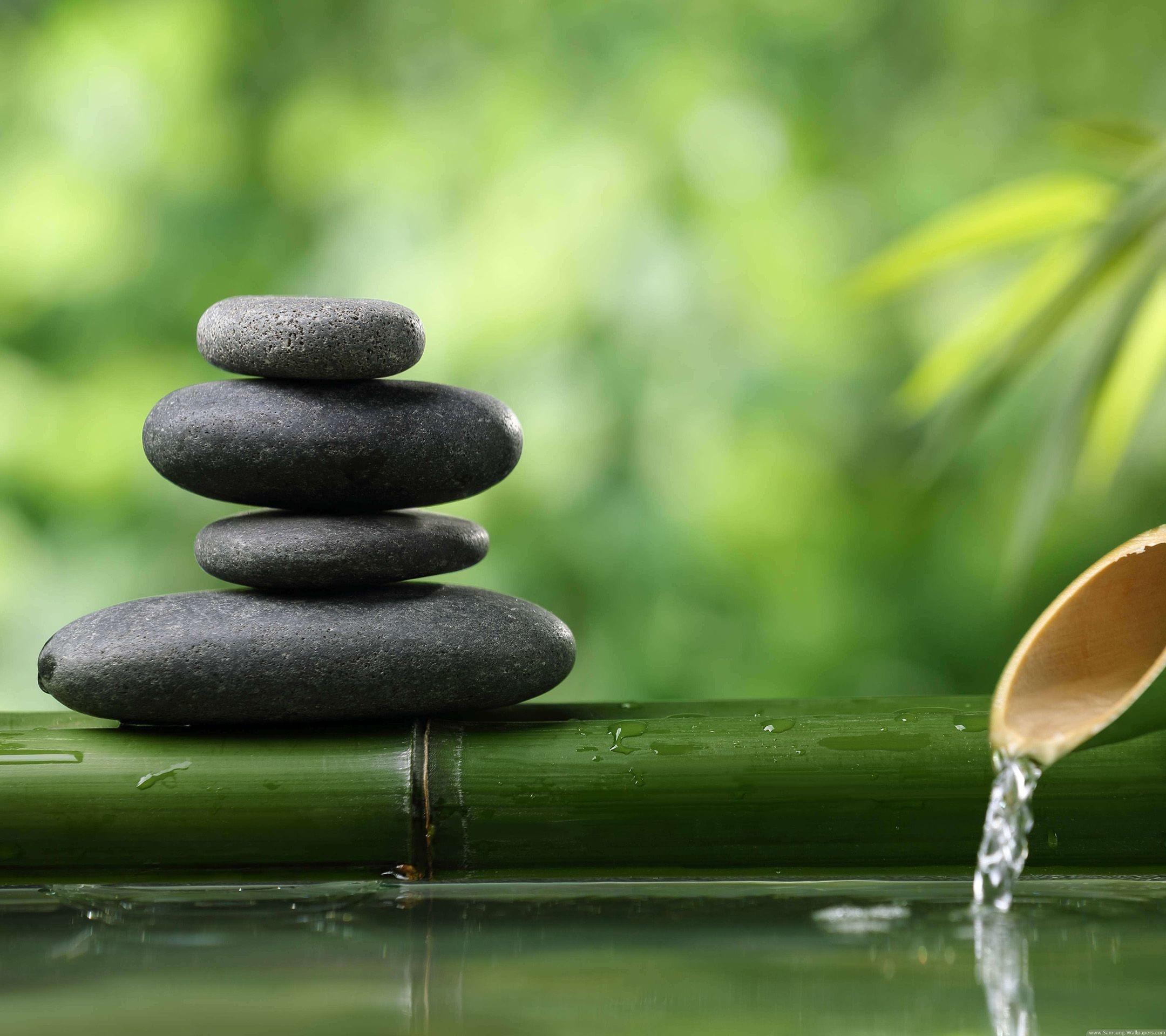 Zen Stones Desktop Lock Screen Samsung Galaxy Note 3 .