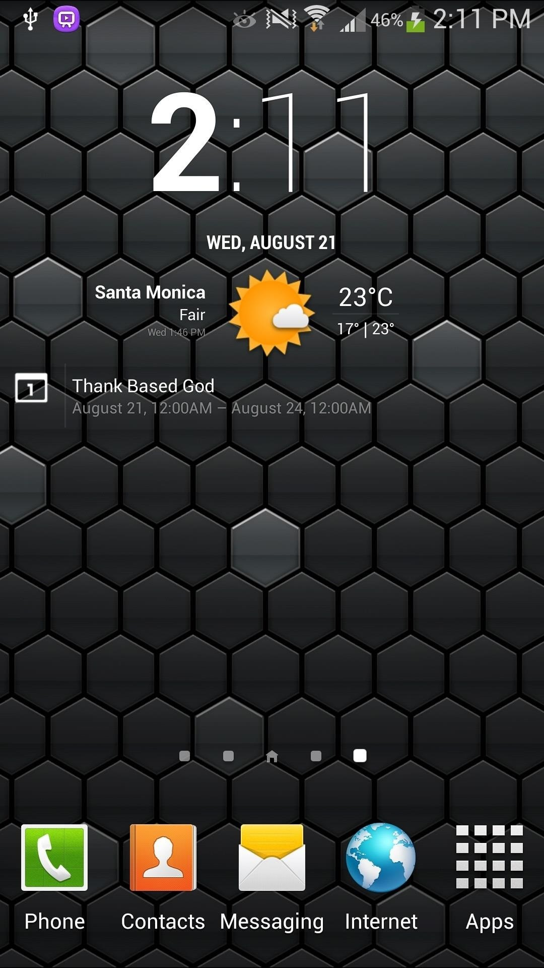 Step 5Apply the cLock Widget to Your Home/Lock Screen