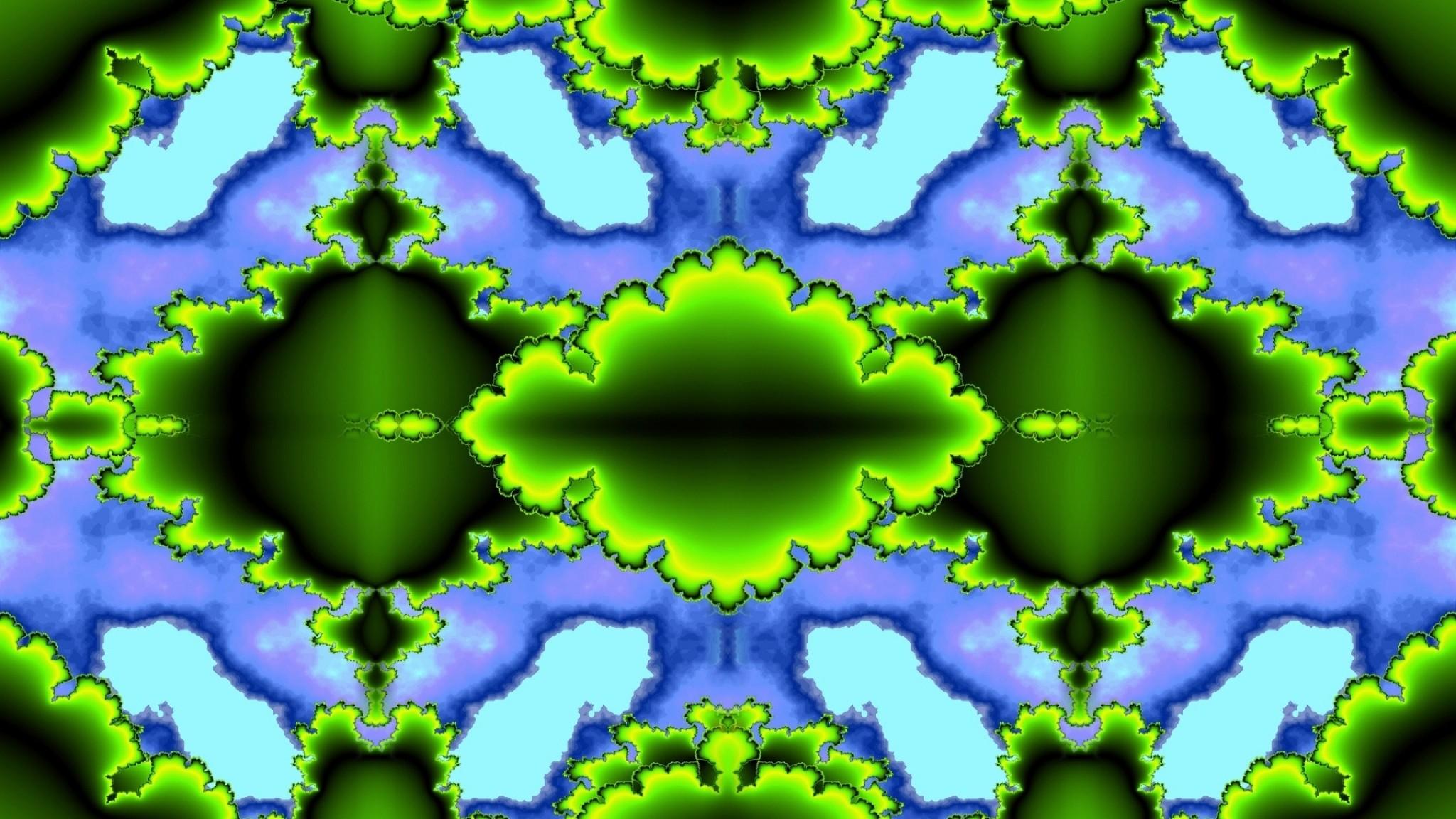 Wallpaper green, chaos, colorful, pixels