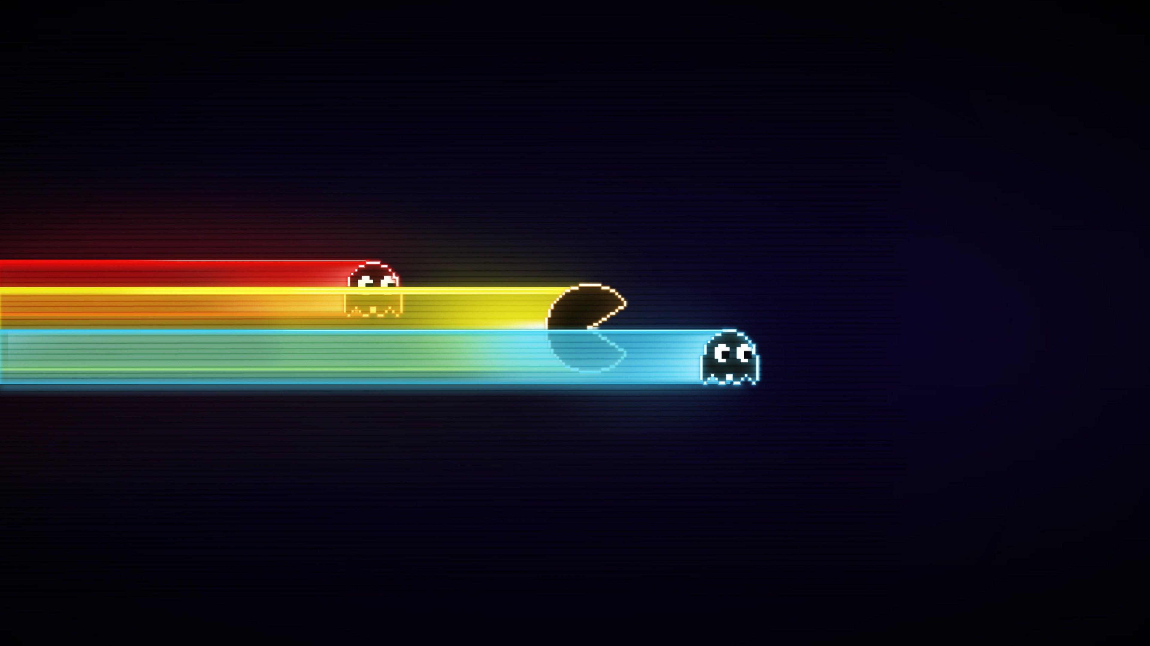 PacMan Pixel Wallpaper