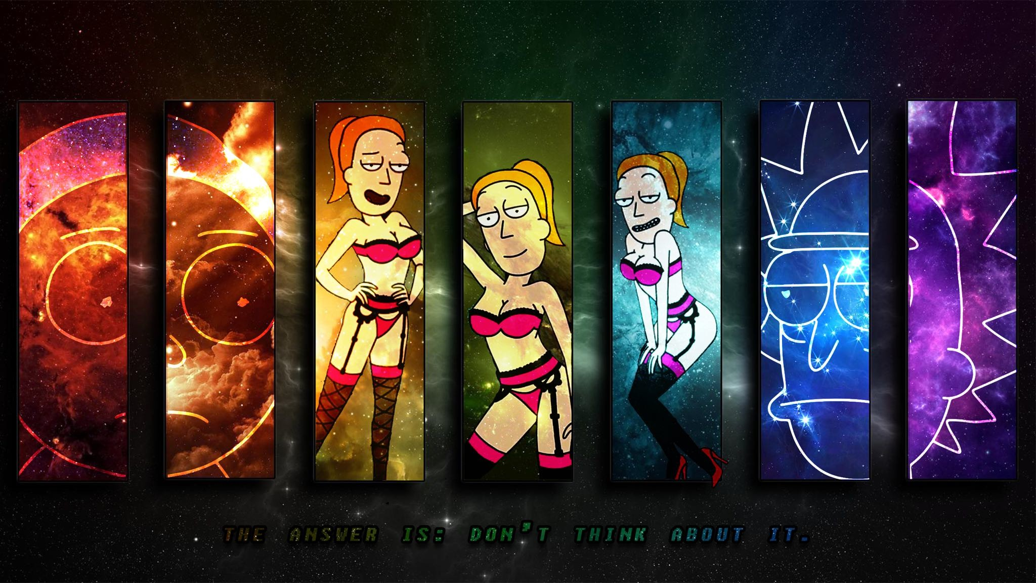 Rick and Morty HD Wallpapers and Backgrounds 2048×1152 Rick and Morty  Wallpapers (25