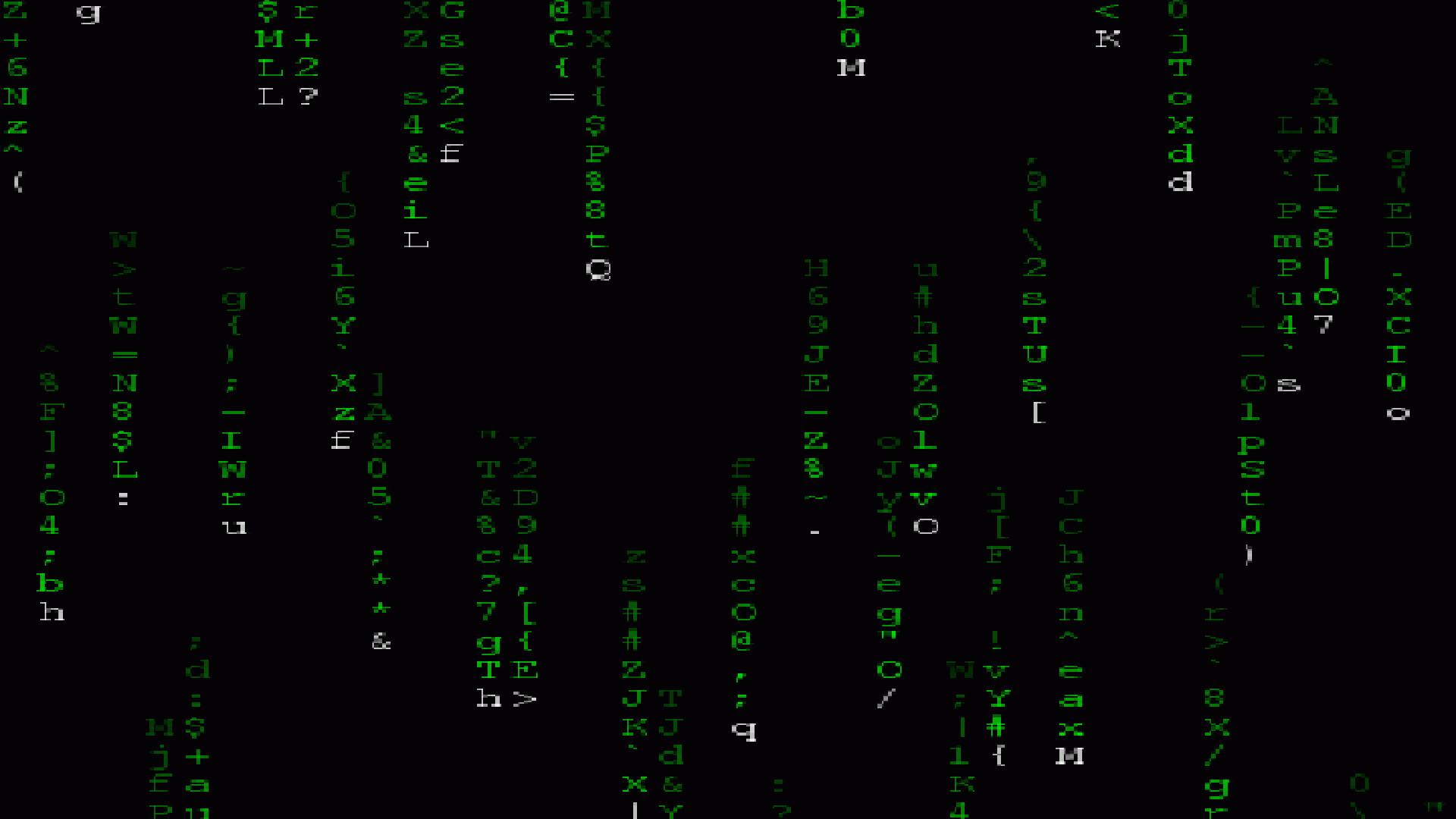 Matrix Moving HD Photo Wallpaper
