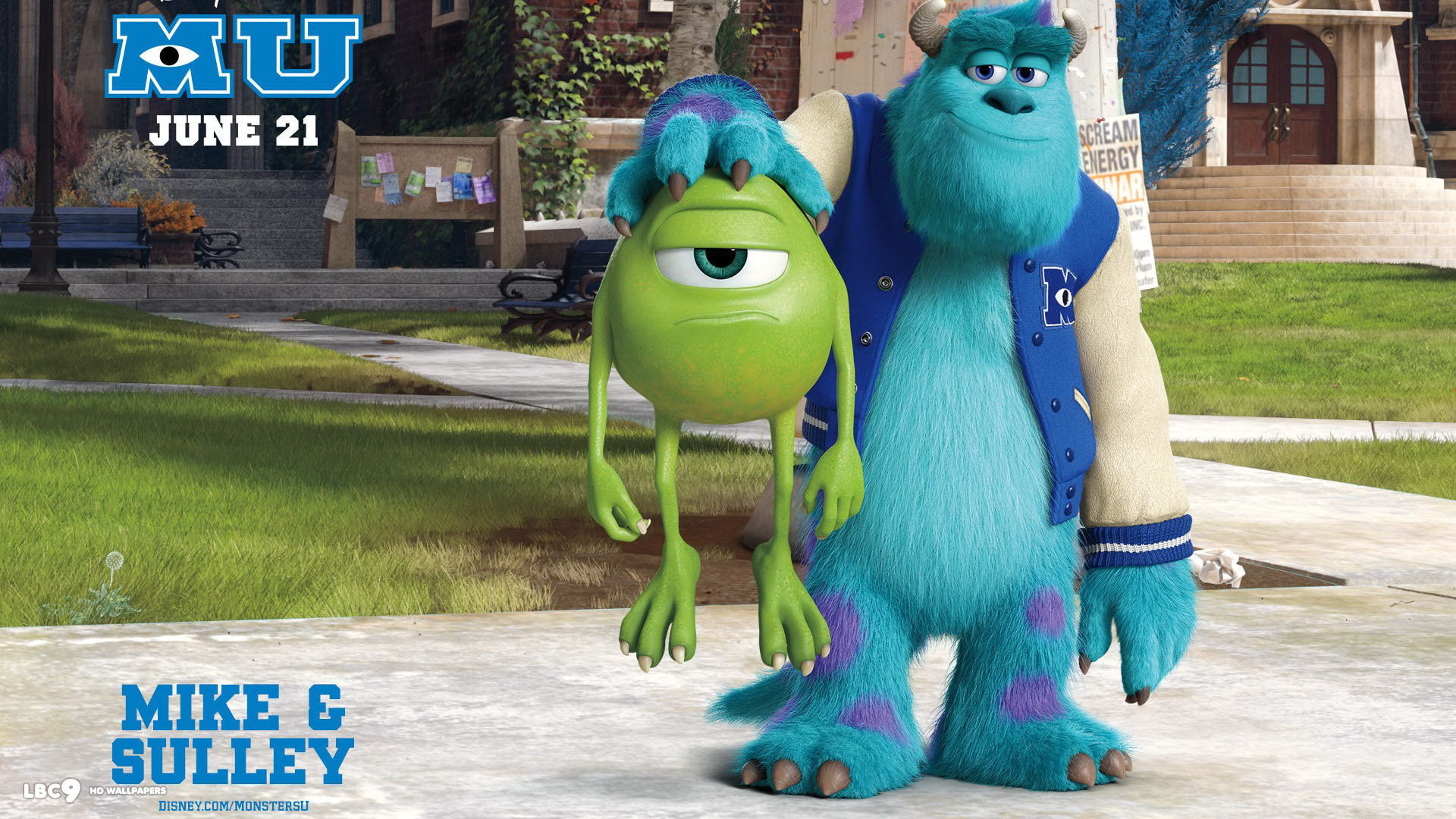 3d computer animated film monsters university