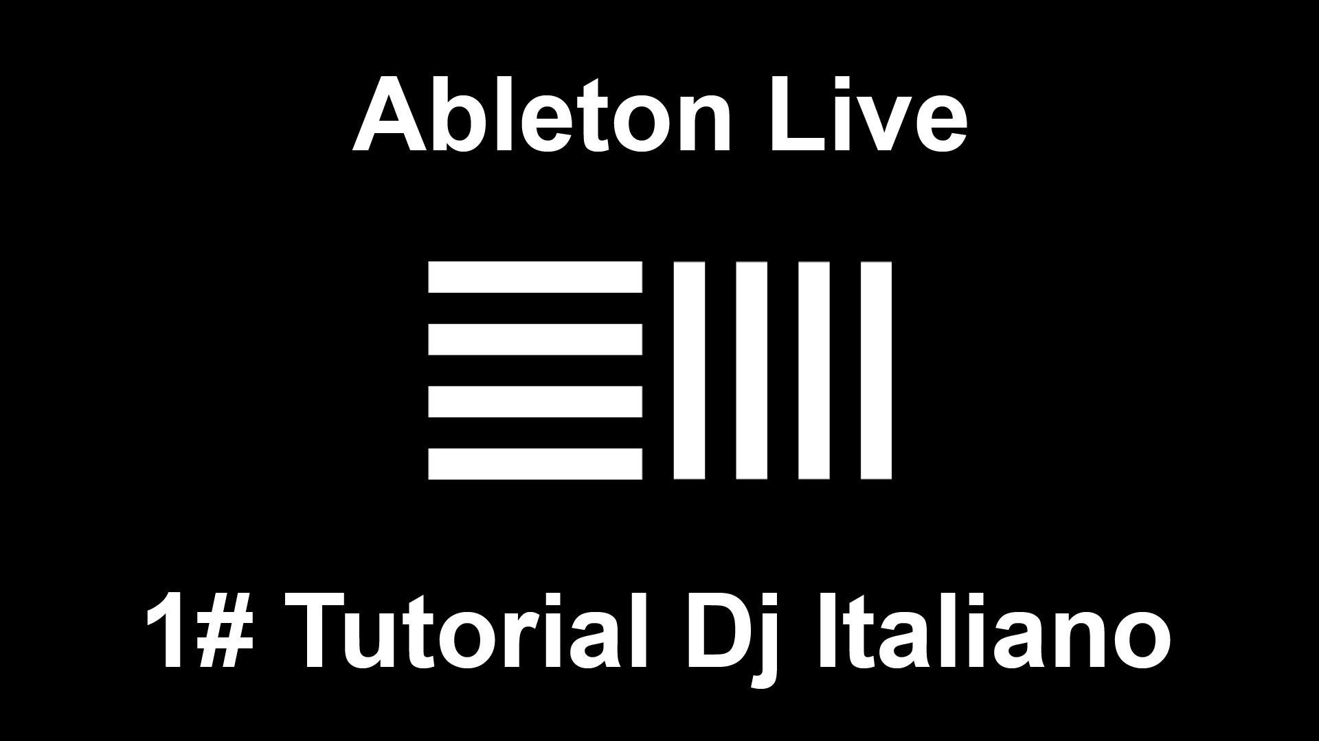 Ableton live – 1# dj tutorial Italiano – Come fare un MixTape/Megamix –  Robby High