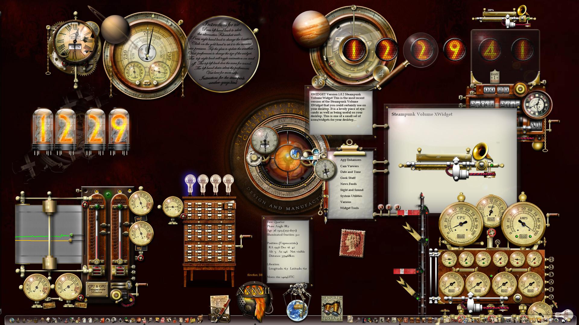 Steampunk Theme Windows 10 Desktop by yereverluvinuncleber Steampunk Theme Windows  10 Desktop by yereverluvinuncleber