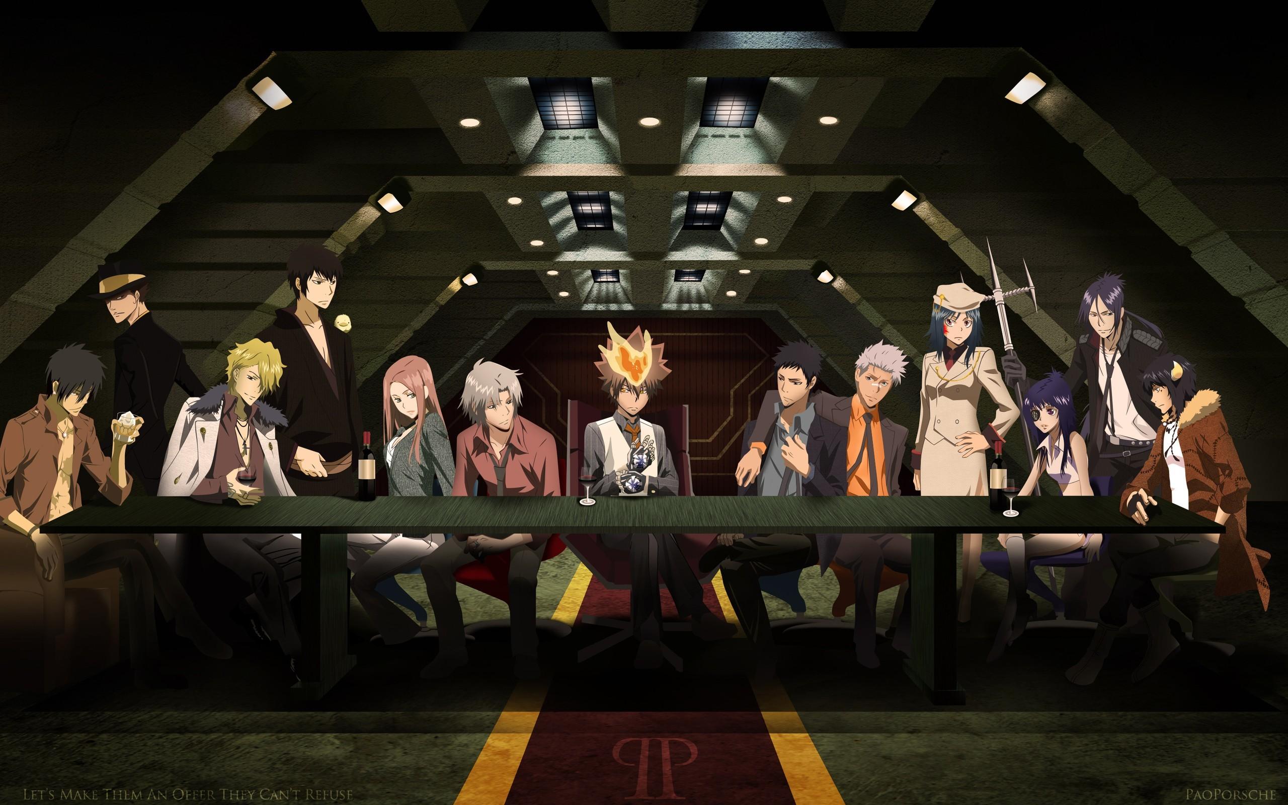 wallpaper Katekyo Hitman Reborn · The Last Supper