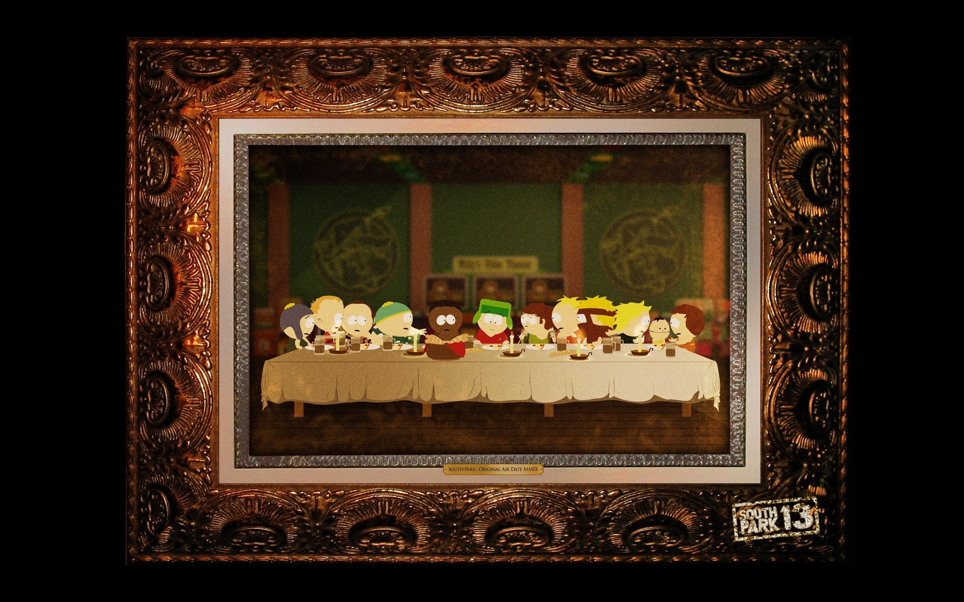 south park pattern the last supper