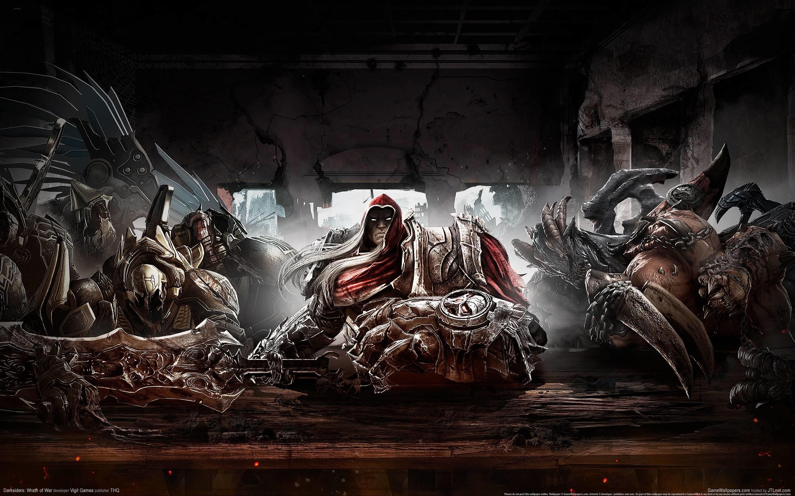 Wallpapers For > Four Horsemen Of The Apocalypse Wallpaper Darksiders