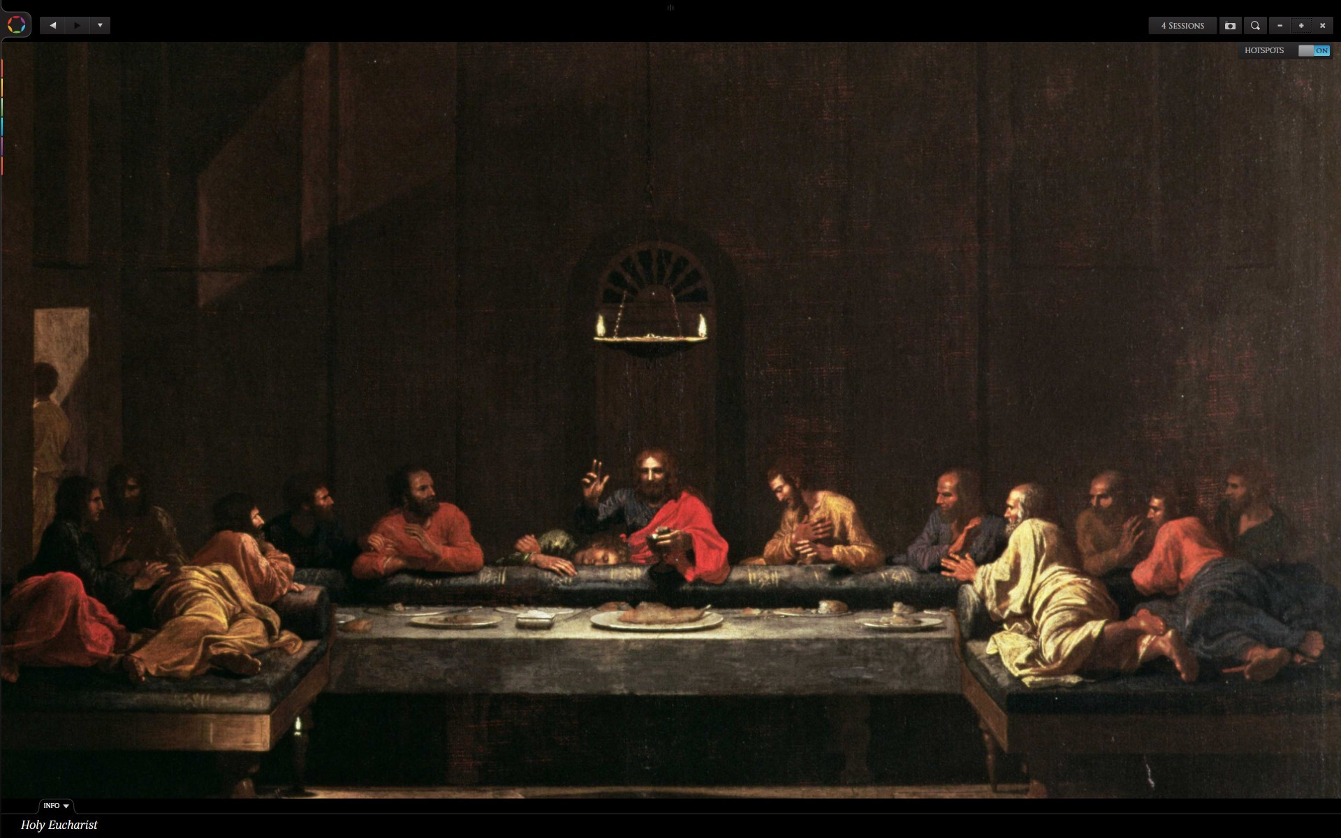 The Last Supper Passover (Feast of Unleavened Bread)