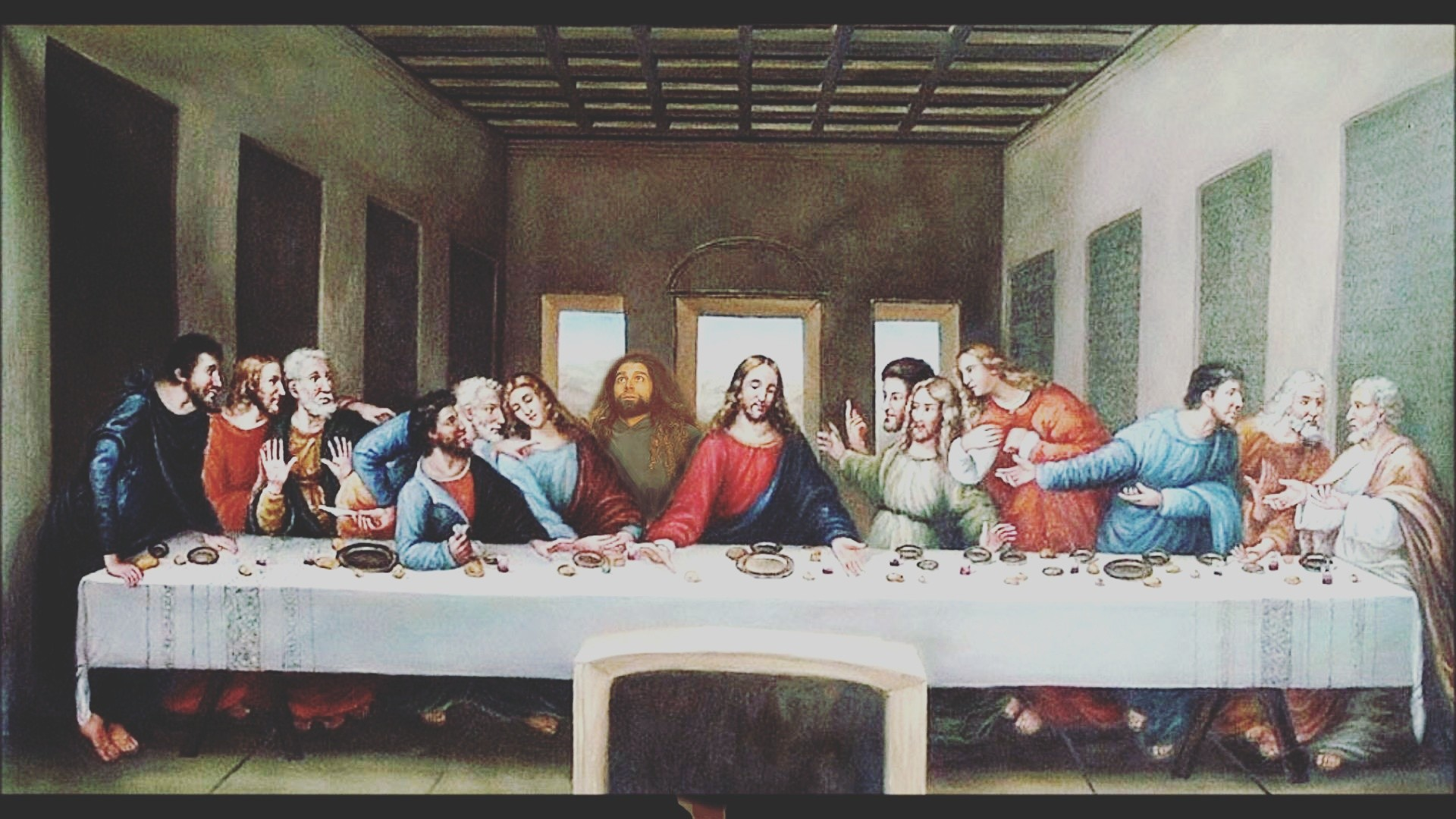 The last supper …